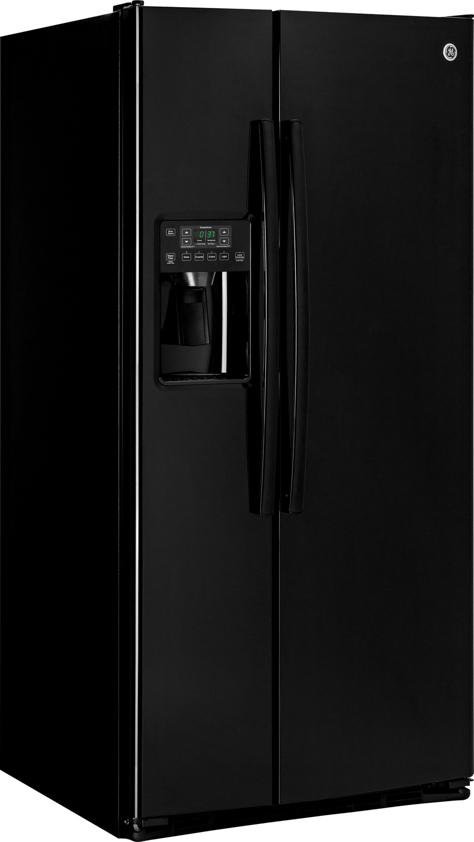 GE Appliances GSS23HGHBB 22.5 cu. ft. Side-By-Side Refrigerator - Black