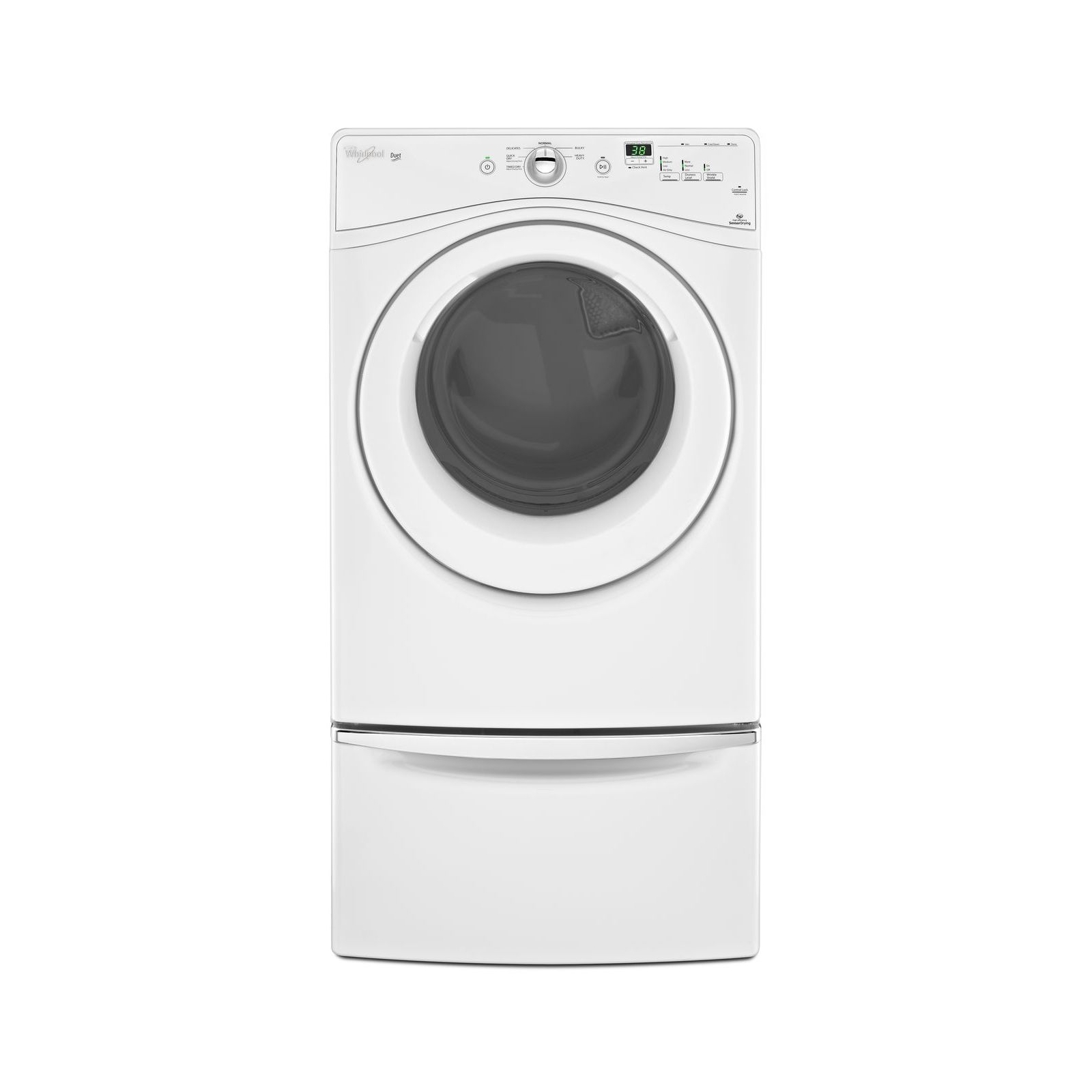 Whirlpool 7.4 cu. ft. Gas Dryer w/ WrinkleShield - White