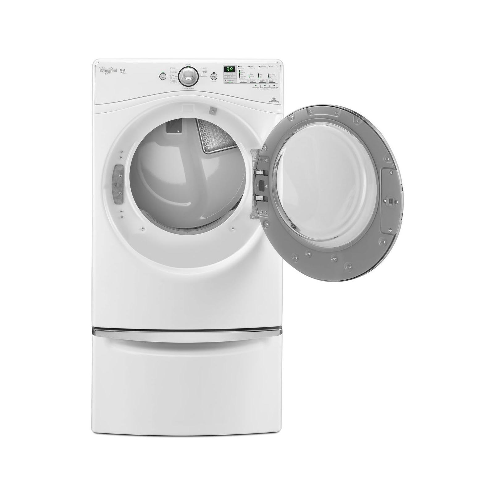 Whirlpool 7.4 cu. ft. Gas Dryer w/ Steam Refresh - White