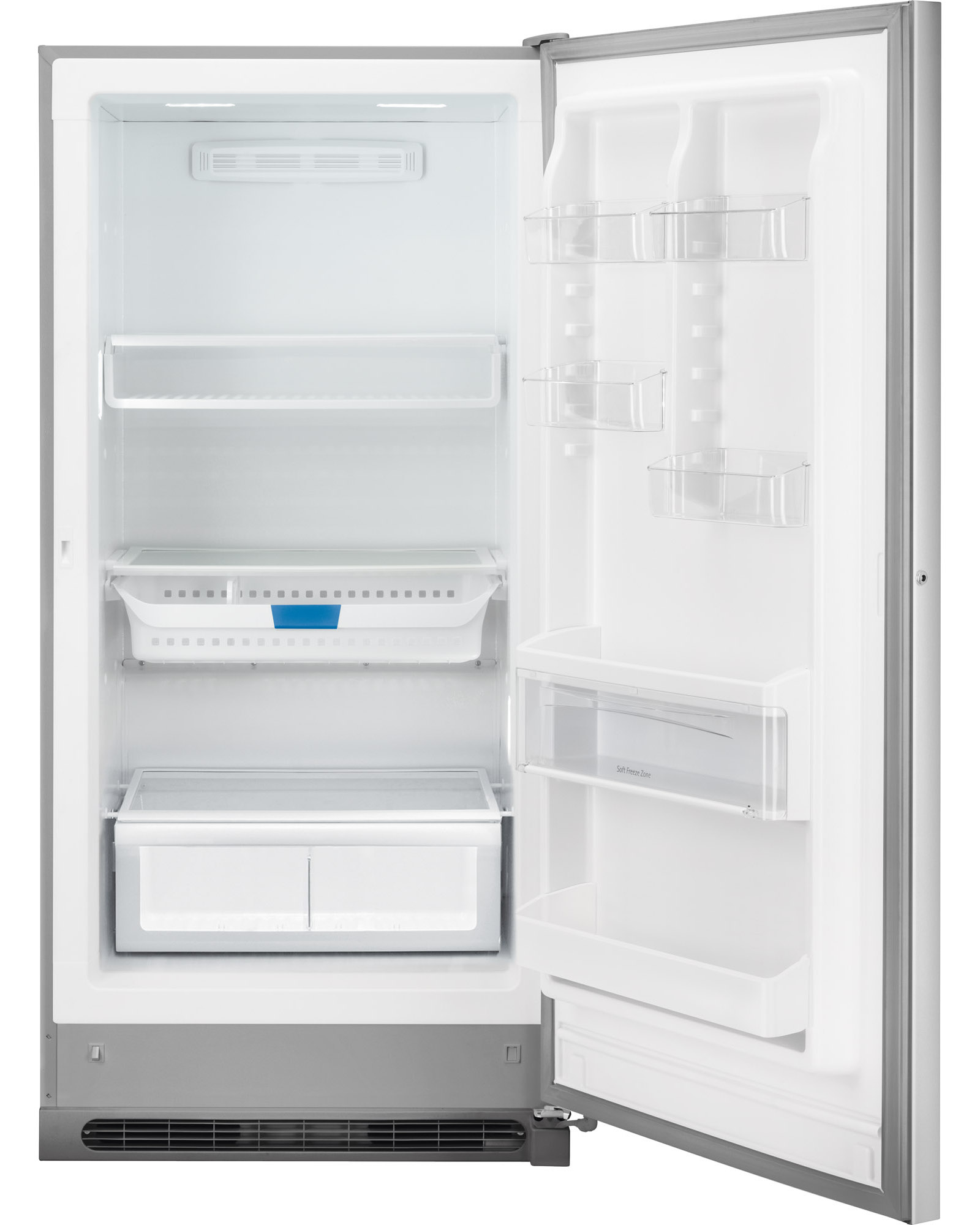 Frigidaire FGVU17F8QF 16.9 cu. ft. Convertible Refrigerator/Freezer - Stainless Steel
