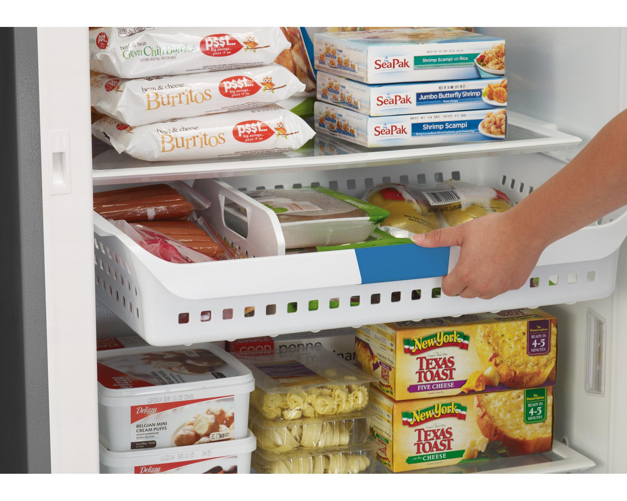 Frigidaire 16.9 cu. ft. Convertible Refrigerator/Freezer - Classic Slate