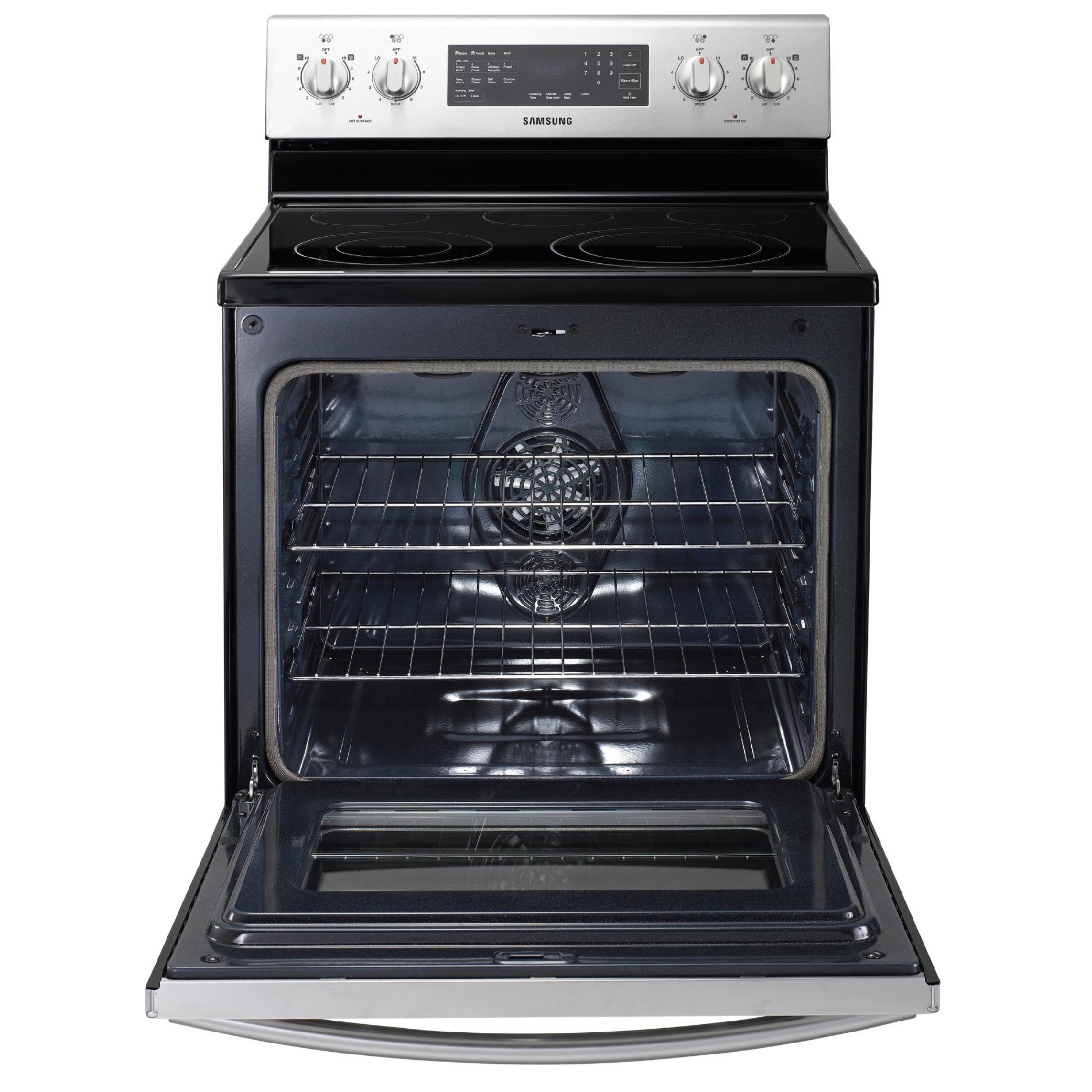 Samsung 5 9 Cu Ft Electric Range Stove W Convection