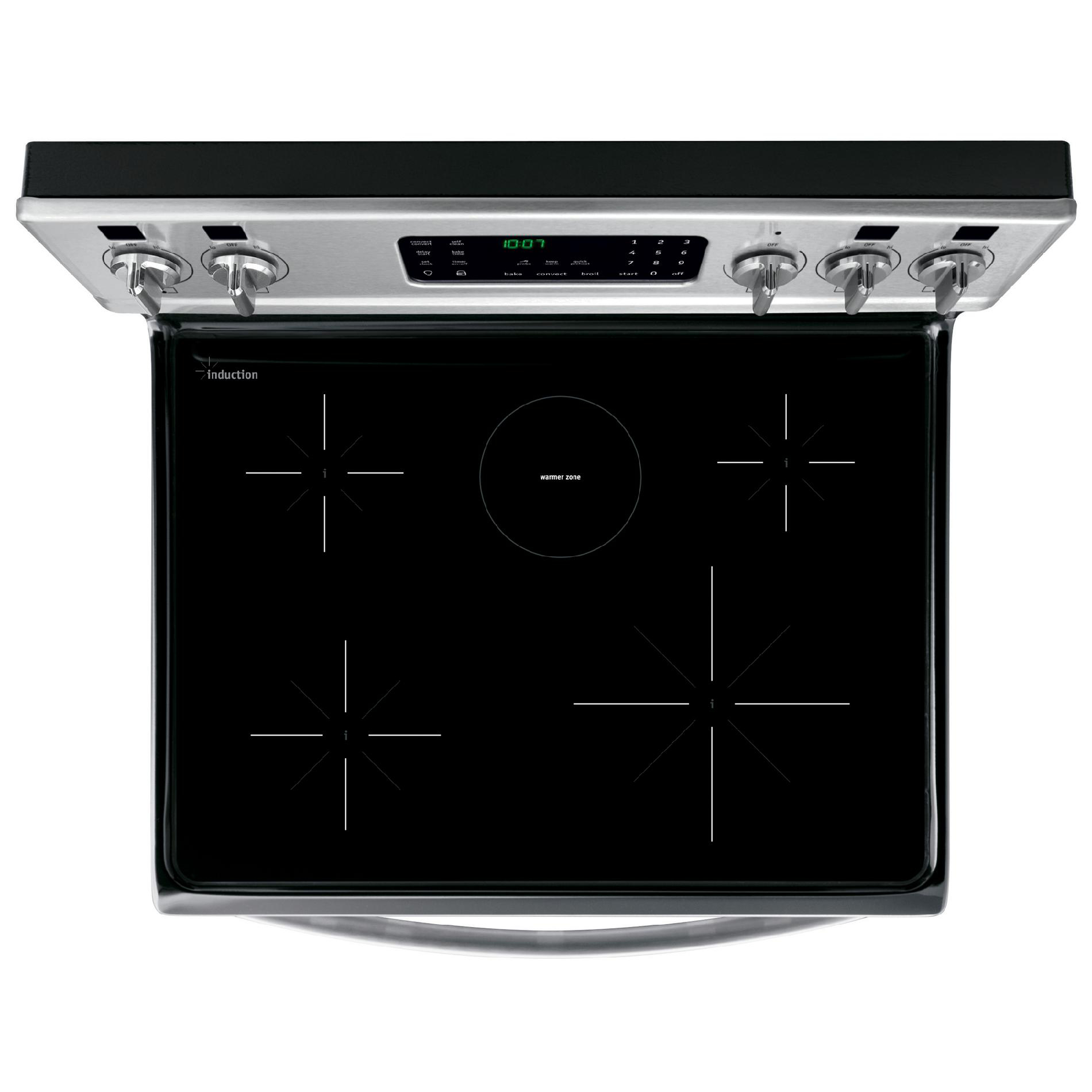 Frigidaire Gallery 5.4 cu. ft. Electric Range w/ Induction Cooktop - Stainless Steel