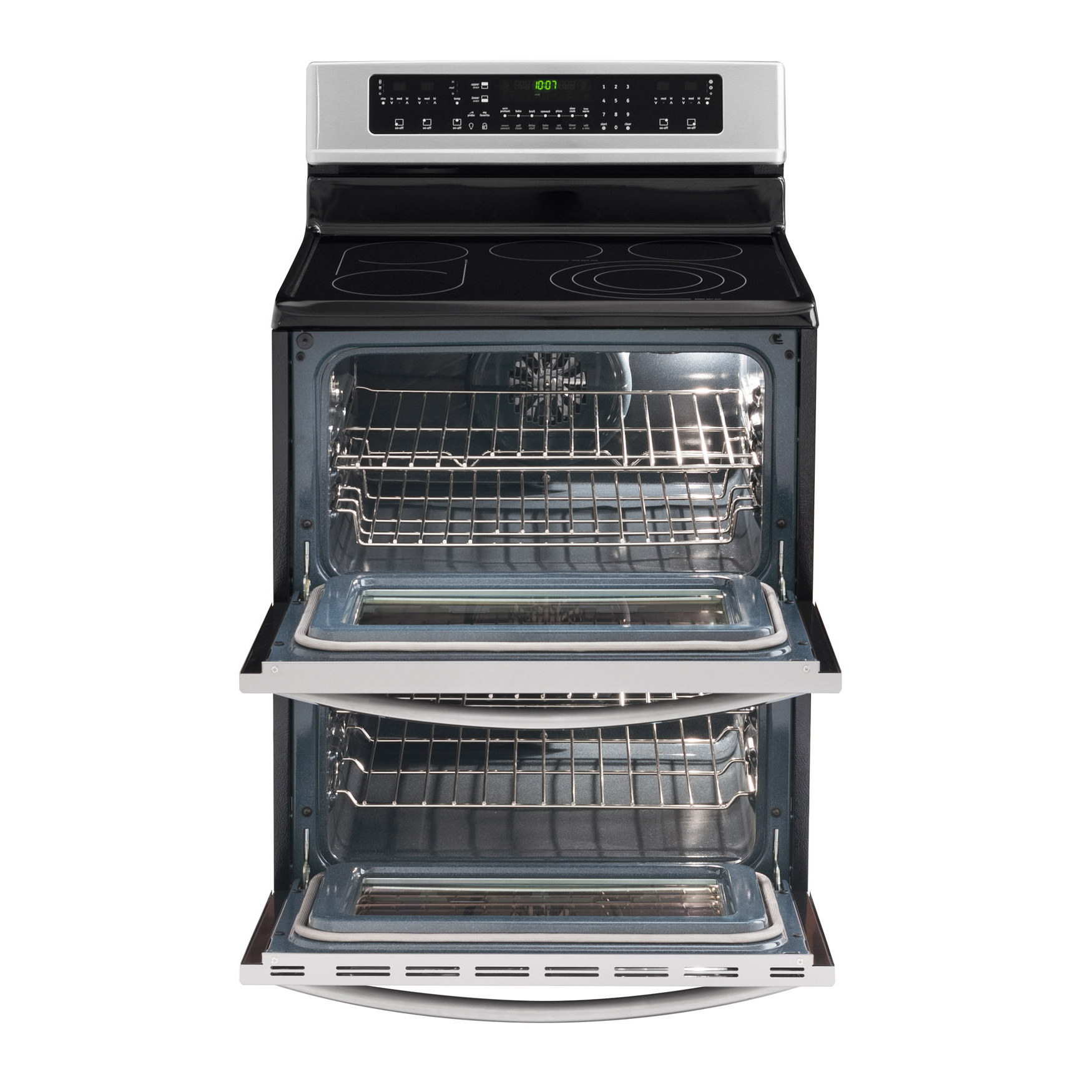 Frigidaire Gallery Gallery 6.6 cu. ft. Double-Oven Electric Range - Stainless Steel