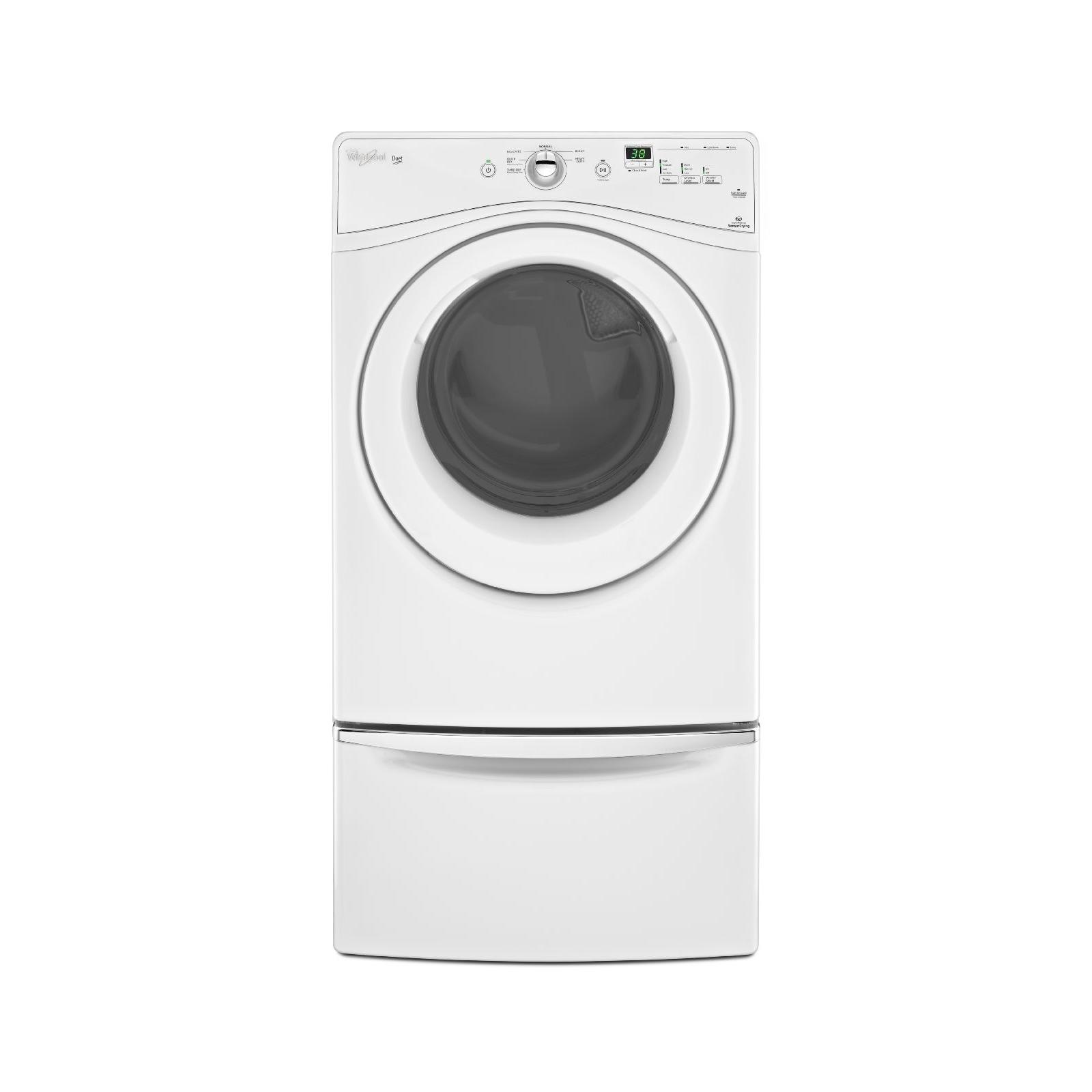 Whirlpool 7.4 cu. ft. Electric Dryer w/ WrinkleShield - White