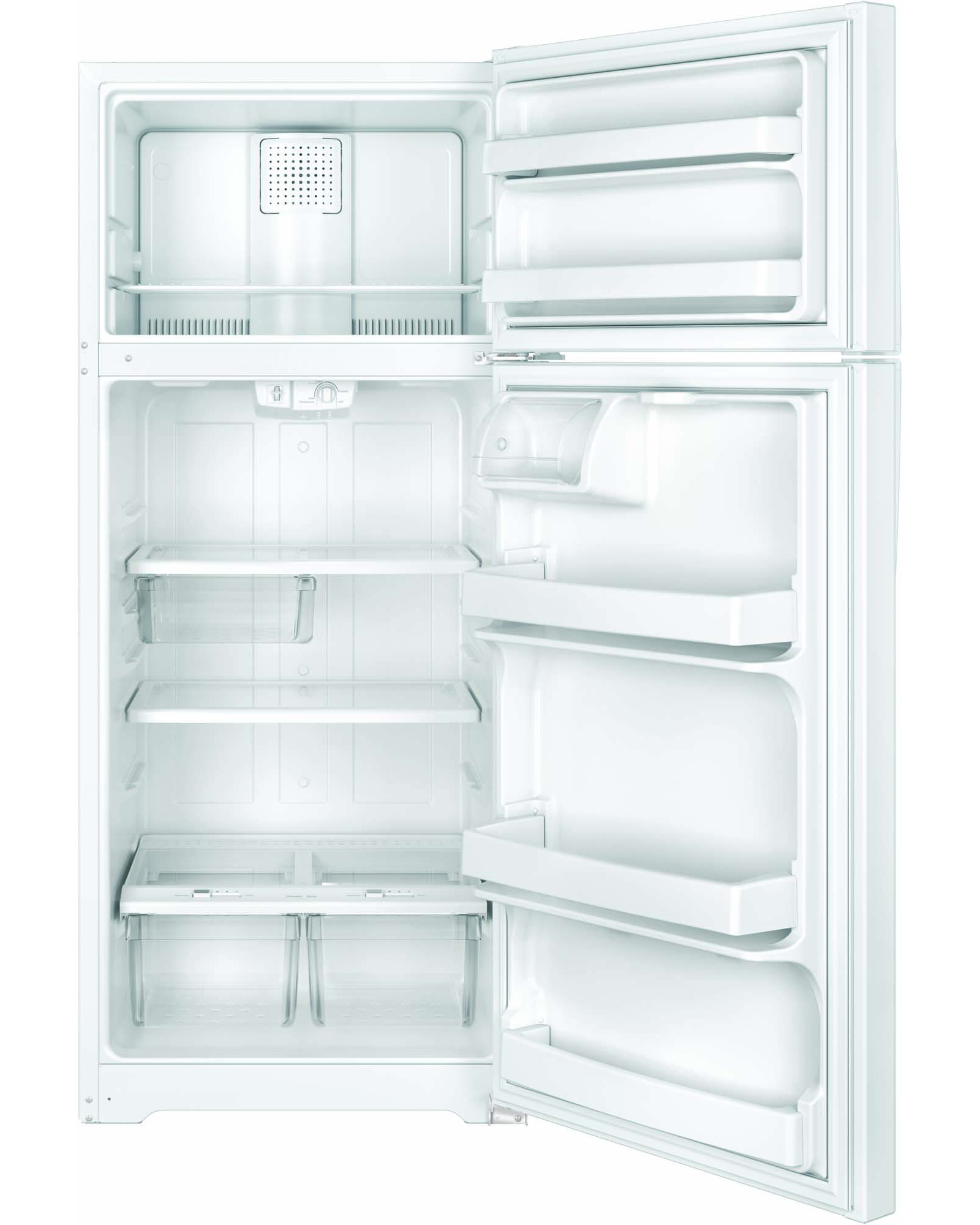 GE Appliances GTE18GTHWW 17.5 cu. ft. Top-Freezer Refrigerator - White