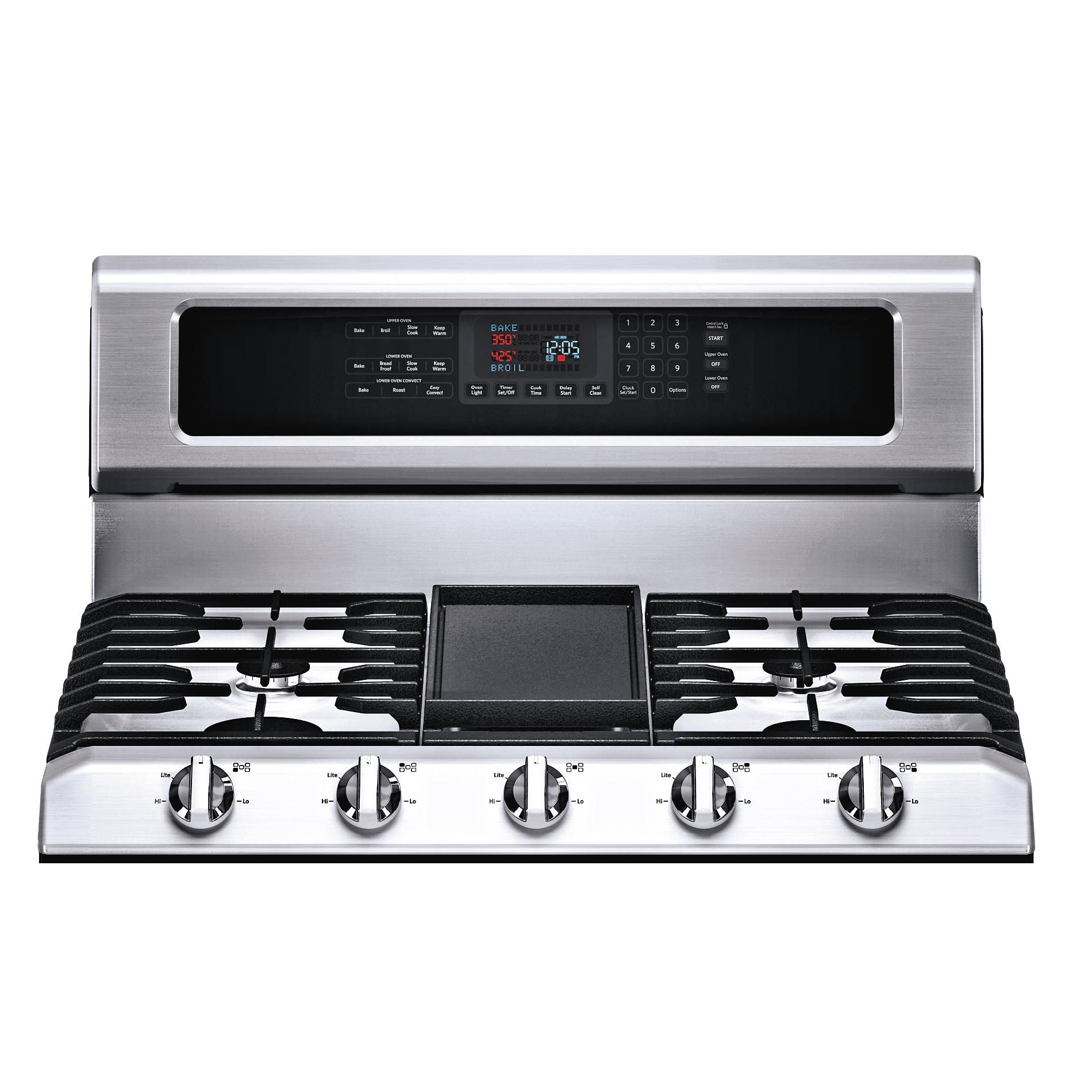 KitchenAid 6 cu. ft. Double Oven Gas Range