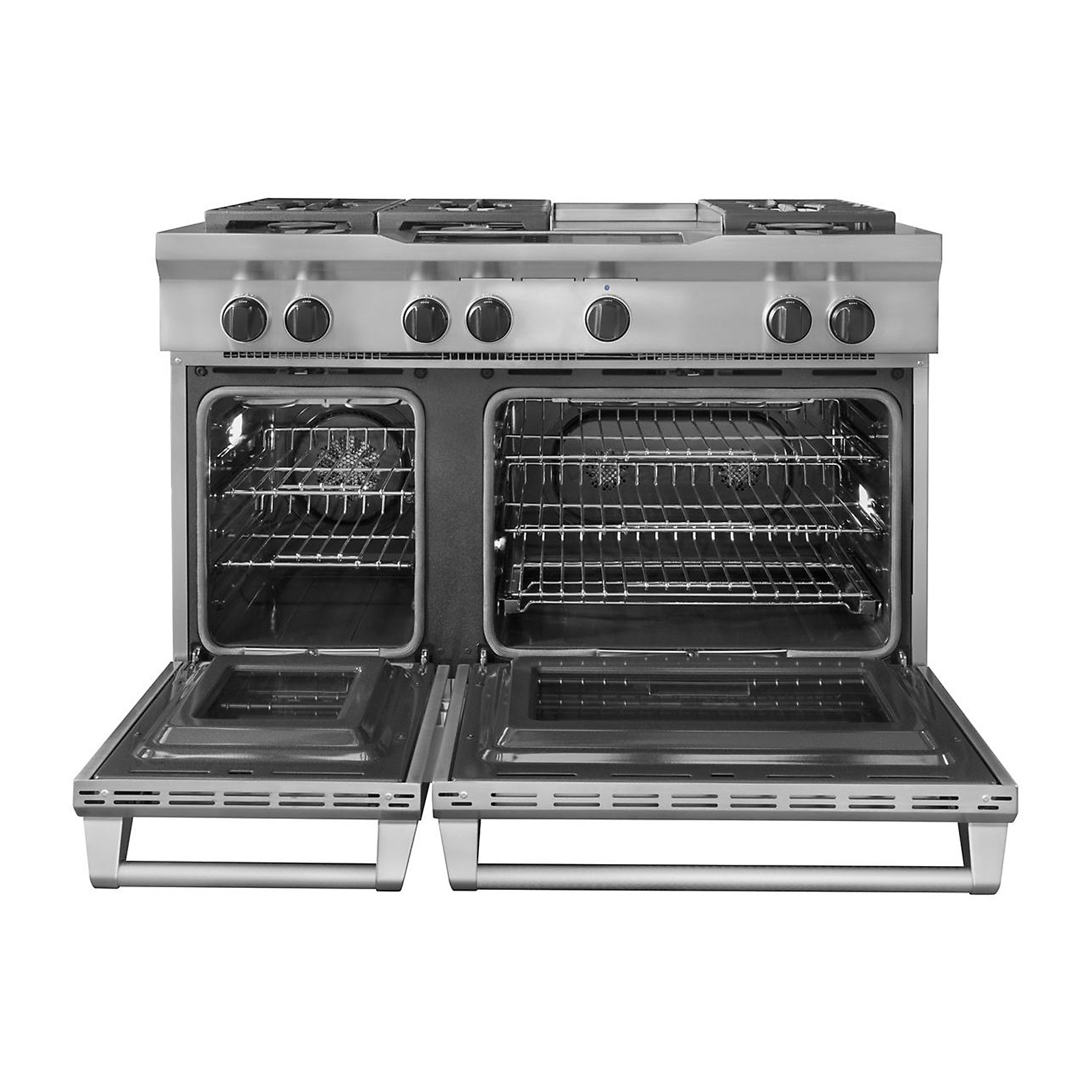 KitchenAid KDRU783VSS Pro-Style® 6.3 cu. ft. Dual Fuel Range w/ Griddle