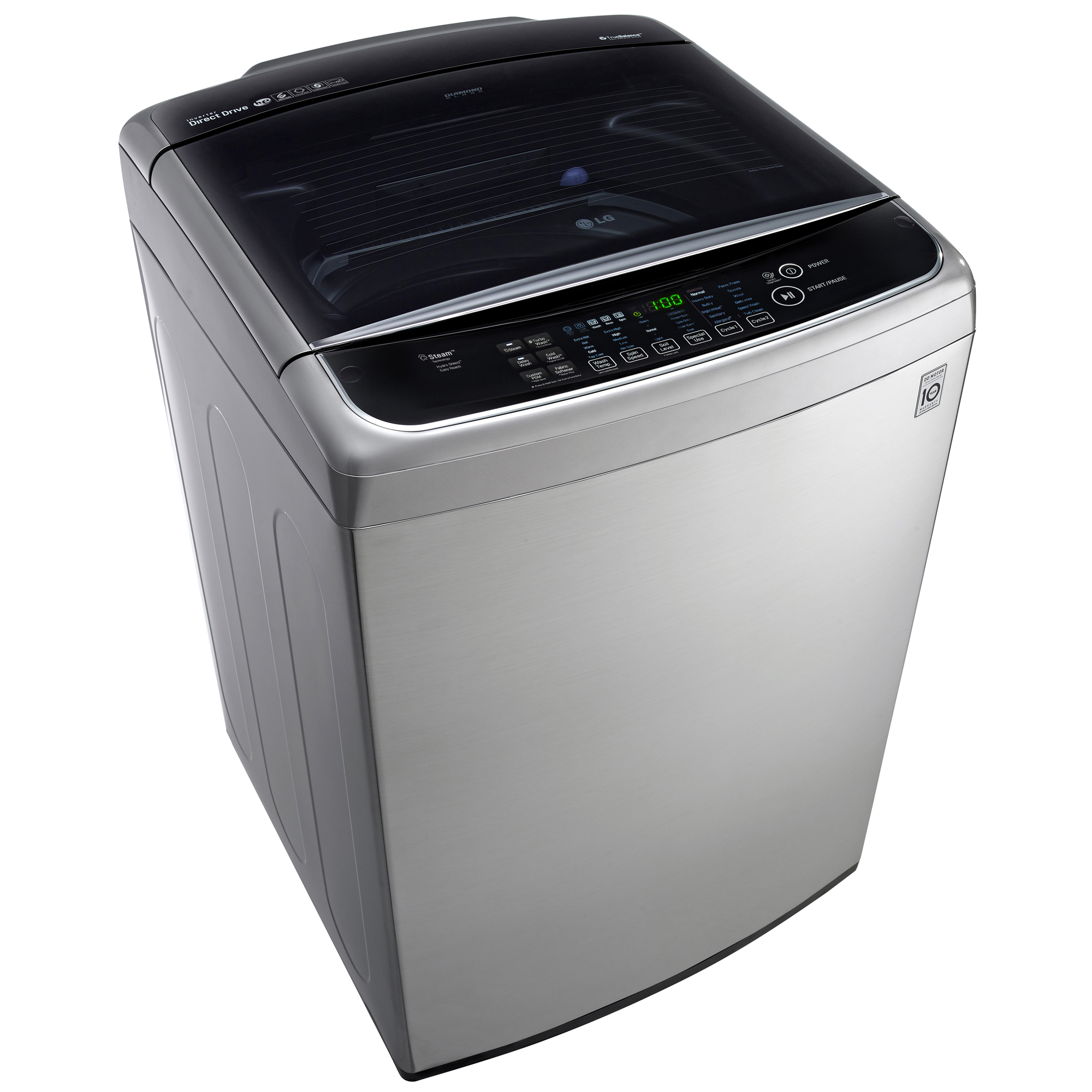 LG 4.9 cu.ft. Top Load Washer w/ Steam