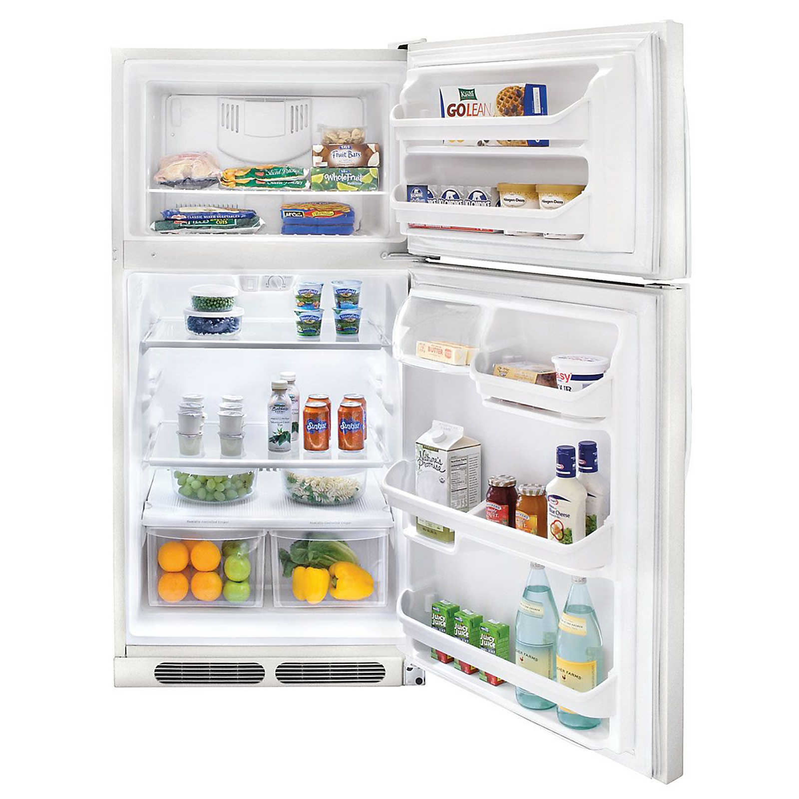 Kenmore 14.8 cu. ft. Top-Freezer Refrigerator - White