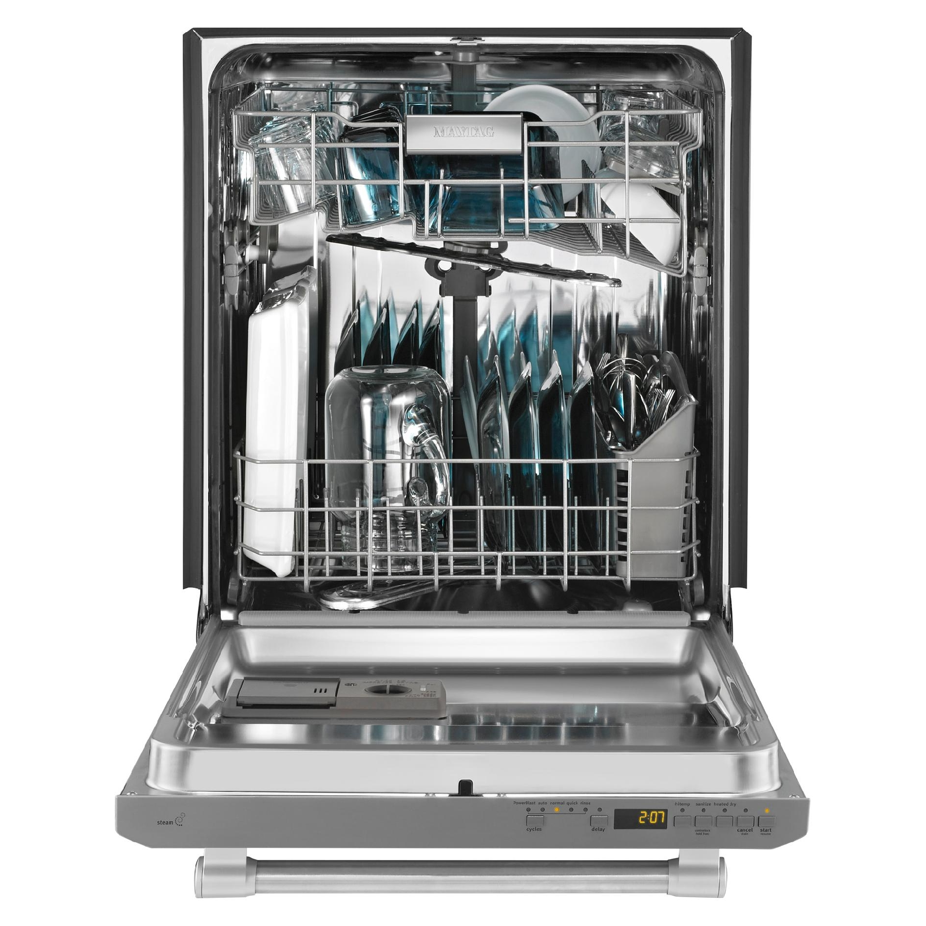 "Maytag MDB5969SDM 24"" Built-In Dishwasher w/ Fully-Integrated Door - Stainless Steel"