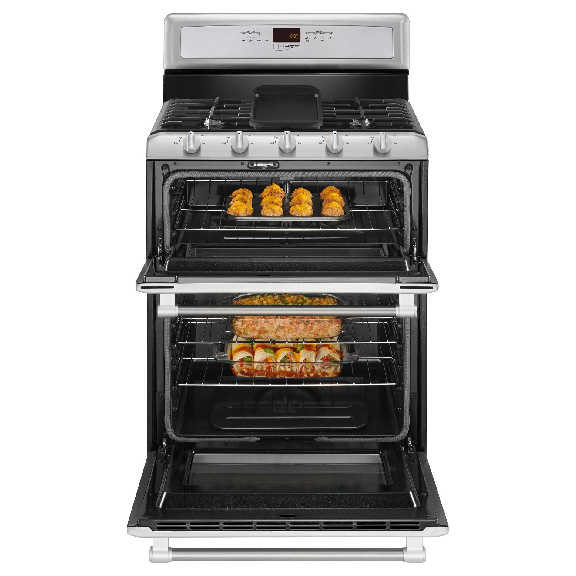 Maytag MGT8820DS 6.0 cu. ft. Double-Oven Gas Range - Stainless Steel