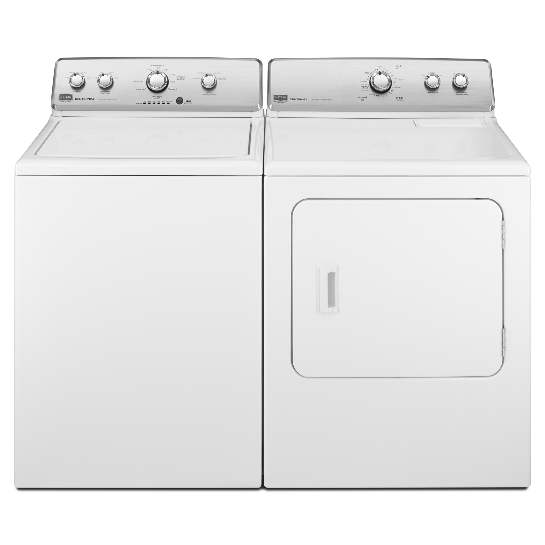 Maytag 7.0 cu. ft. Centennial® Electric Dryer w/ Wrinkle Control - White