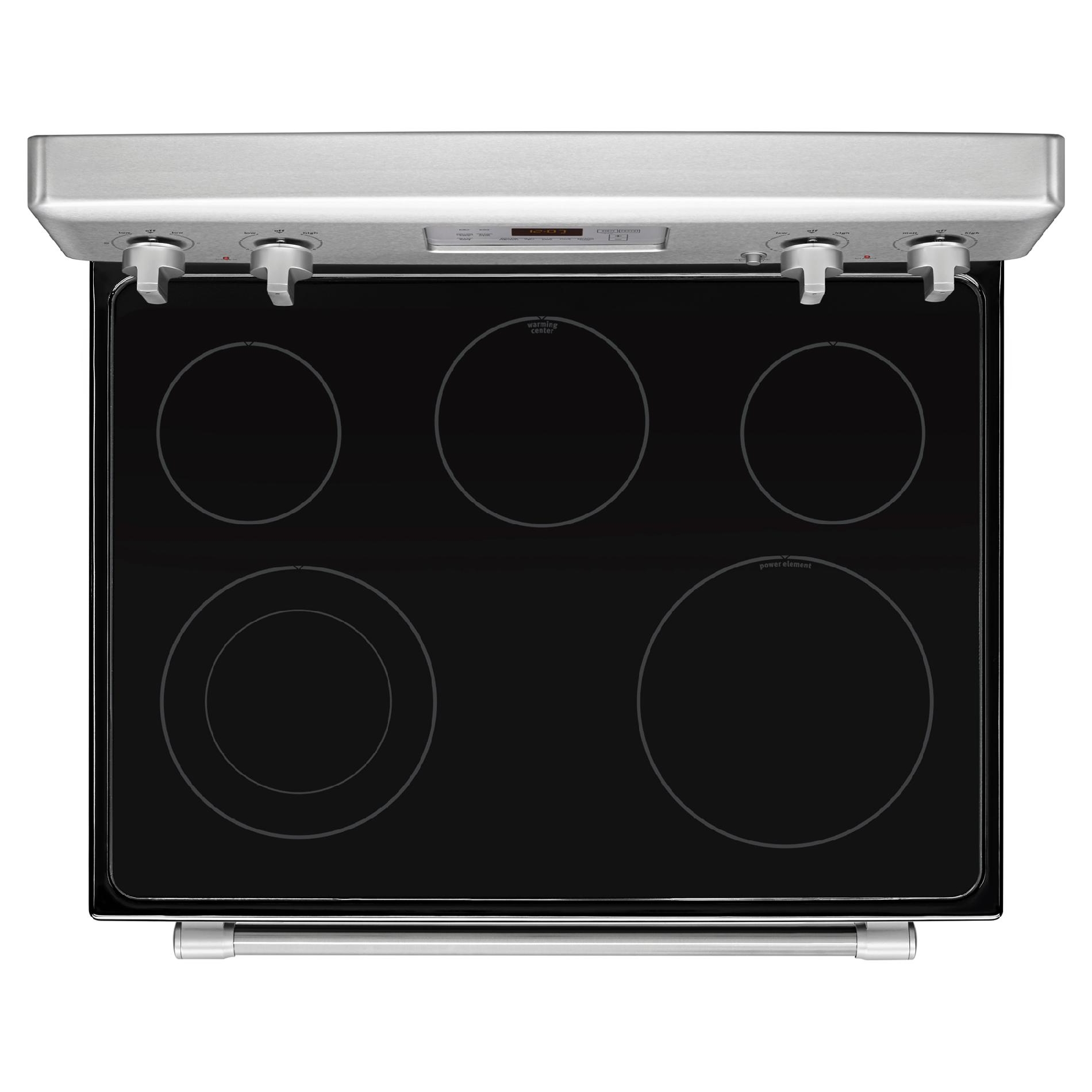 Maytag MER8700DS 6.2 cu. ft. Electric Range w/ 5th Element - Stainless Steel