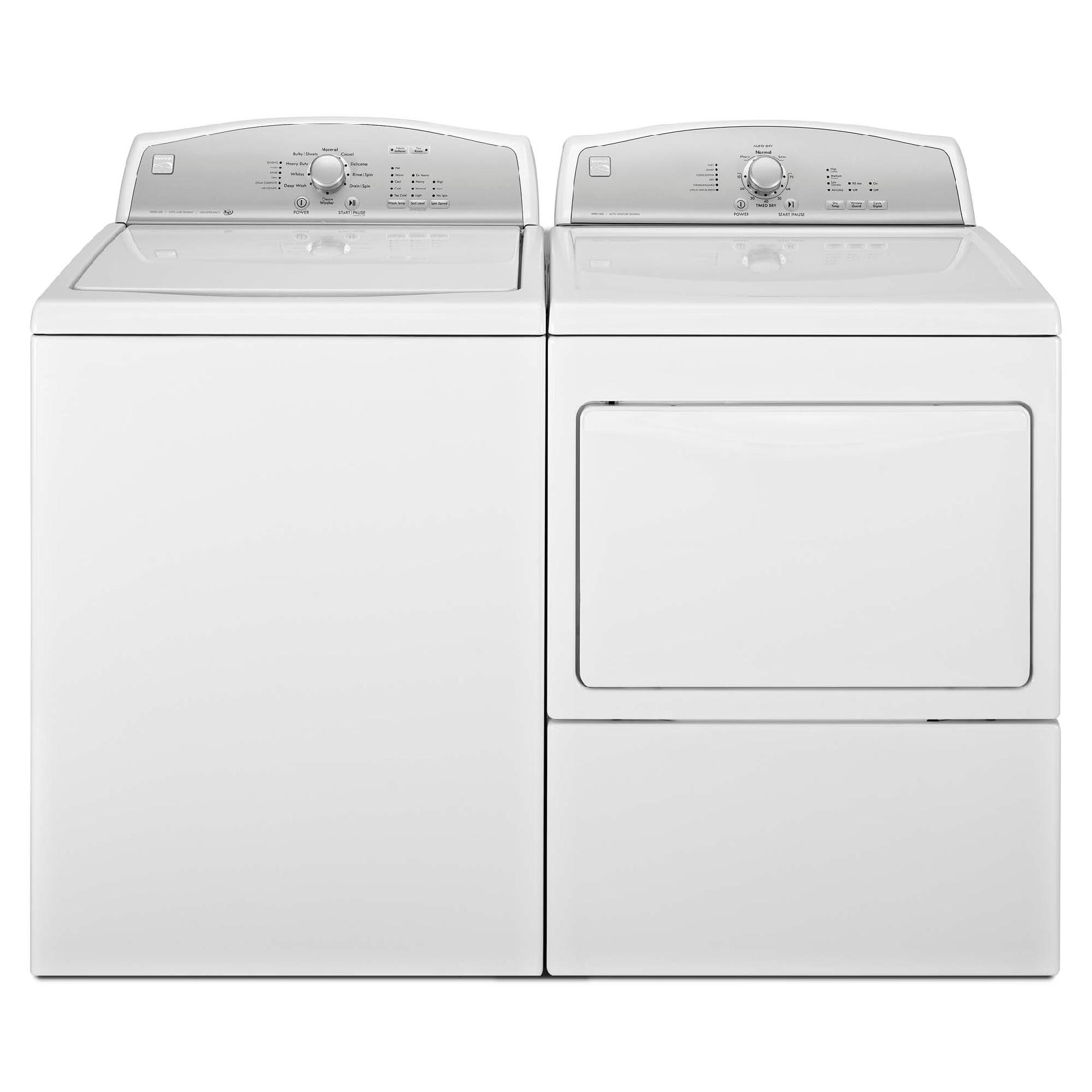 Kenmore 27102 3.8 cu. ft. High-Efficiency Top-Load Washer w/ Deep Wash - White