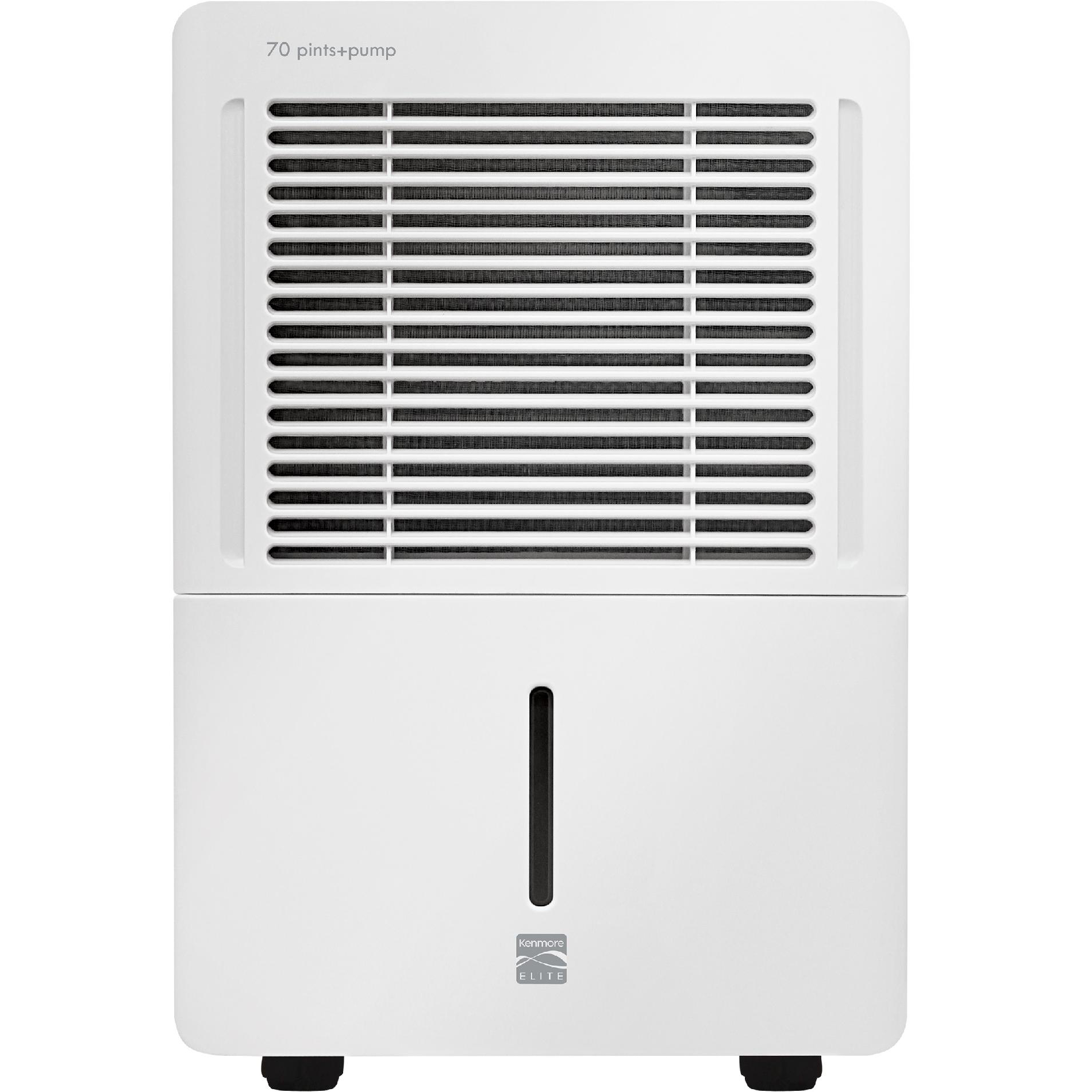 Kenmore 70-pt. Dehumidifier  w/ Water Pump