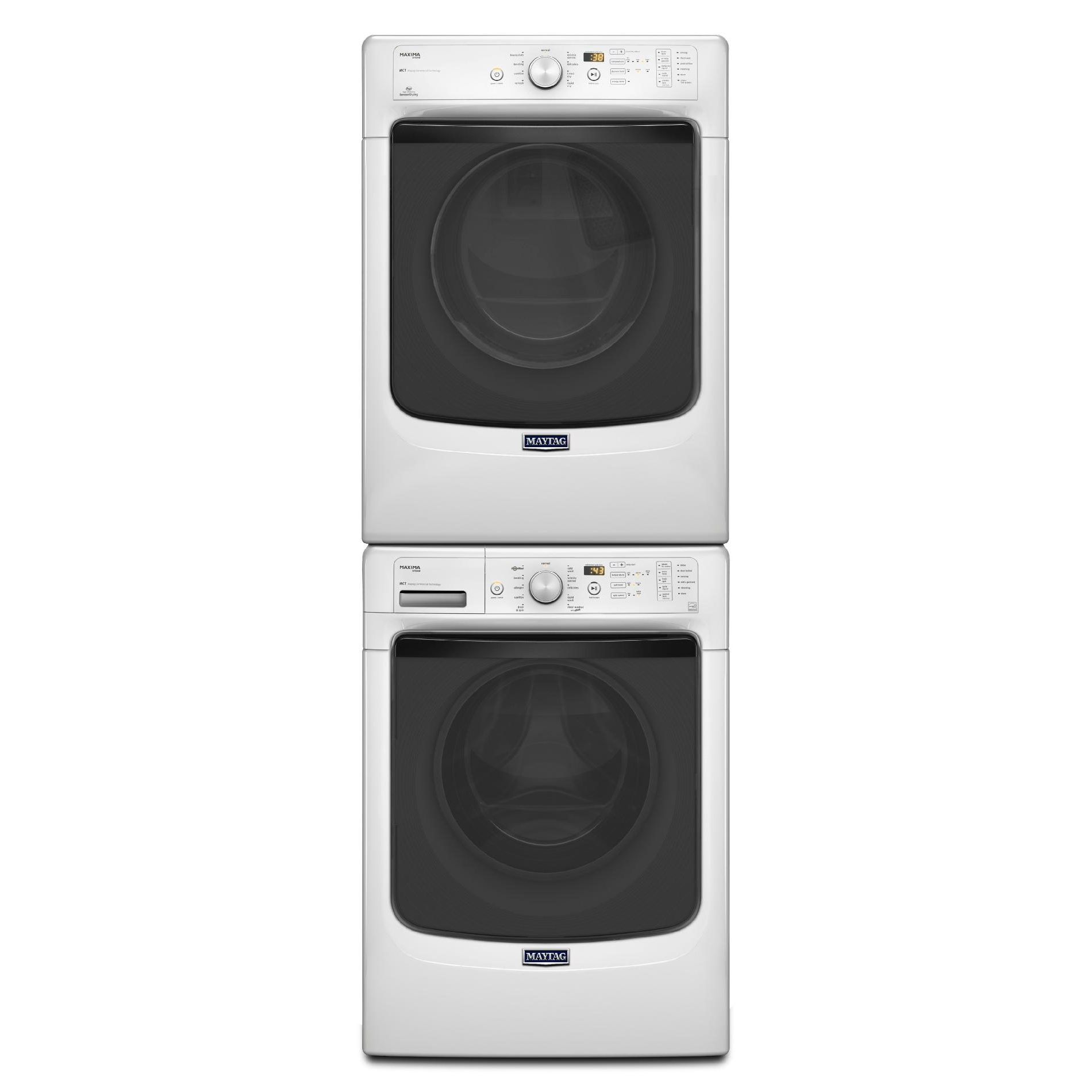 Maytag MED5100DW 7.4 cu. ft. Maxima® Electric Dryer w/ Steam Cycle - White