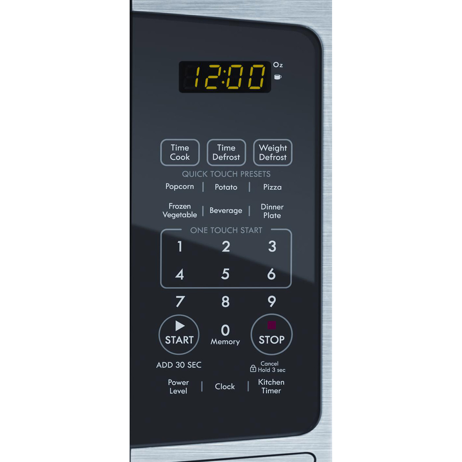 Kenmore 73093 0.9 Cu. Ft. Stainless Countertop Microwave