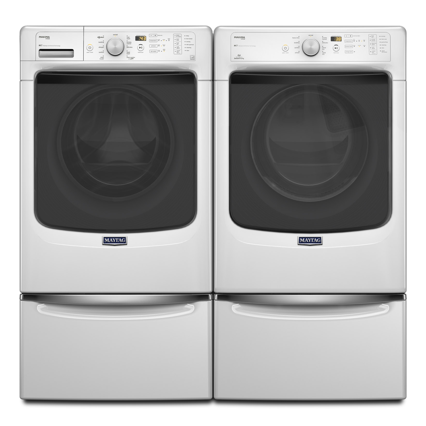 Maytag MHW5100DW 4.5 cu. ft. Maxima® Front-Load Washer w/ Advanced Vibration Control - White