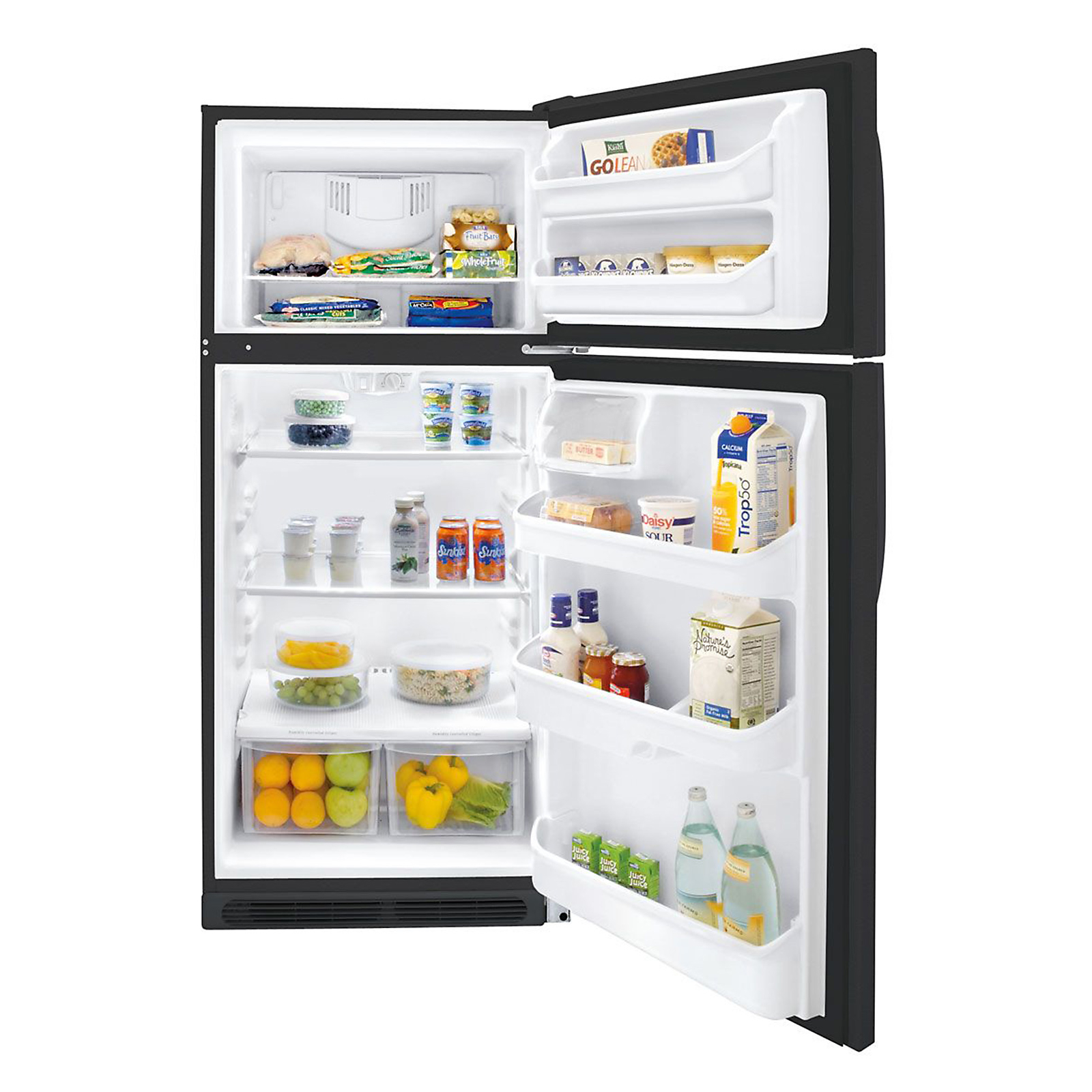 Kenmore 16.5 cu. ft. Top-Freezer Refrigerator - Black