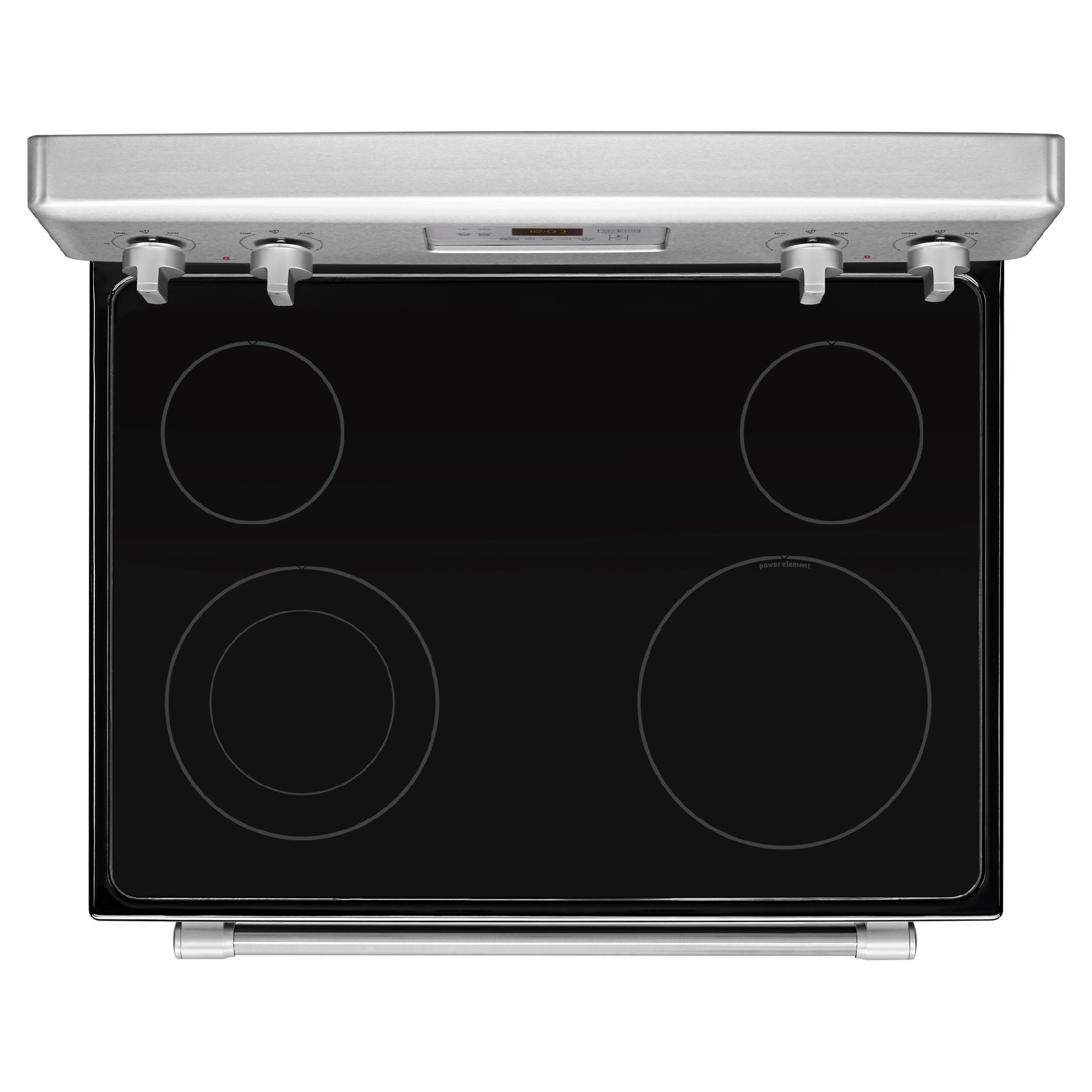 Maytag MER8600DS 6.2 cu. ft. Electric Range w/ Dual Element - Stainless Steel