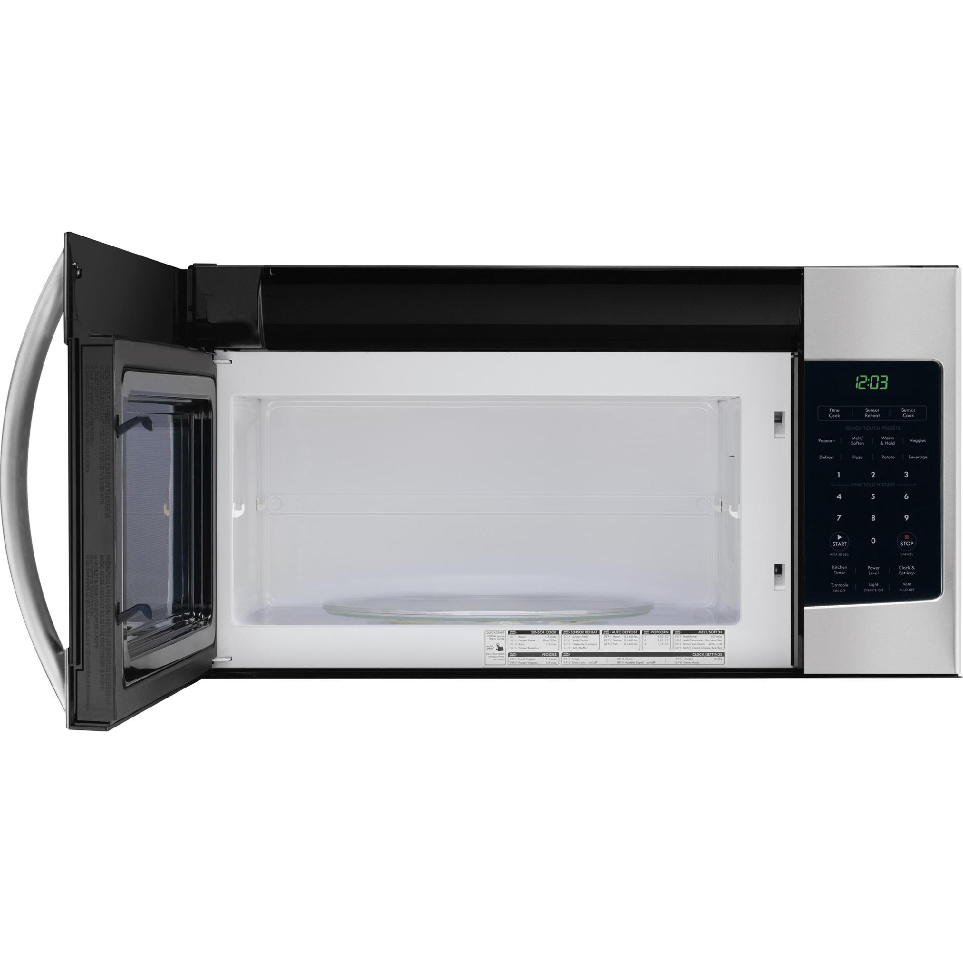 Kenmore 80333 1.7 cu. ft. Over-the-Range Microwave - Stainless Steel