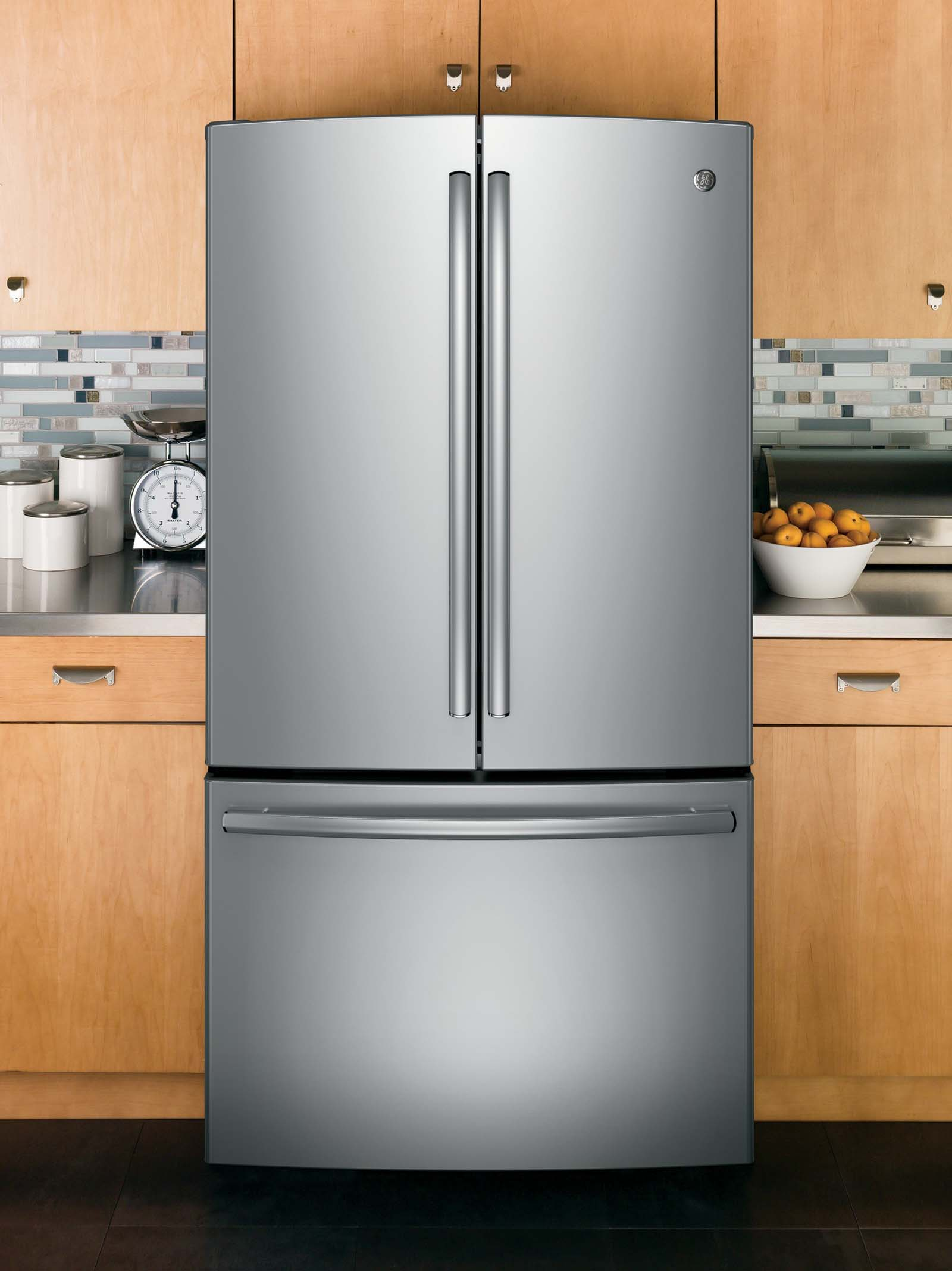 GE Appliances GNE29GSHSS 28.5 cu. ft. French-Door Refrigerator - Stainless Steel