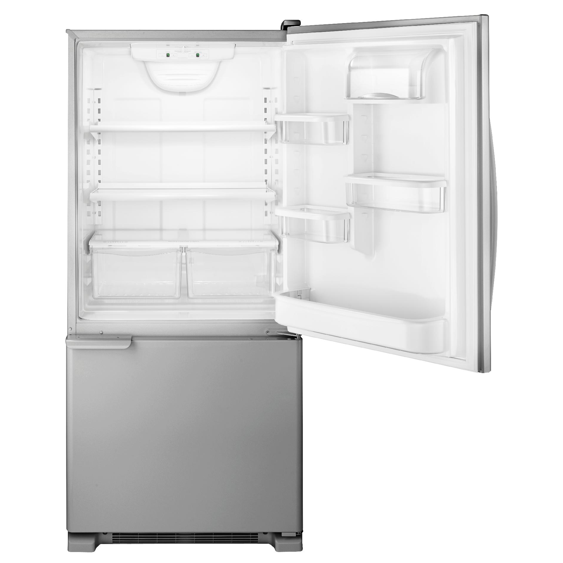 Kenmore 69313 19 cu. ft. Bottom-Freezer Refrigerator - Stainless Steel