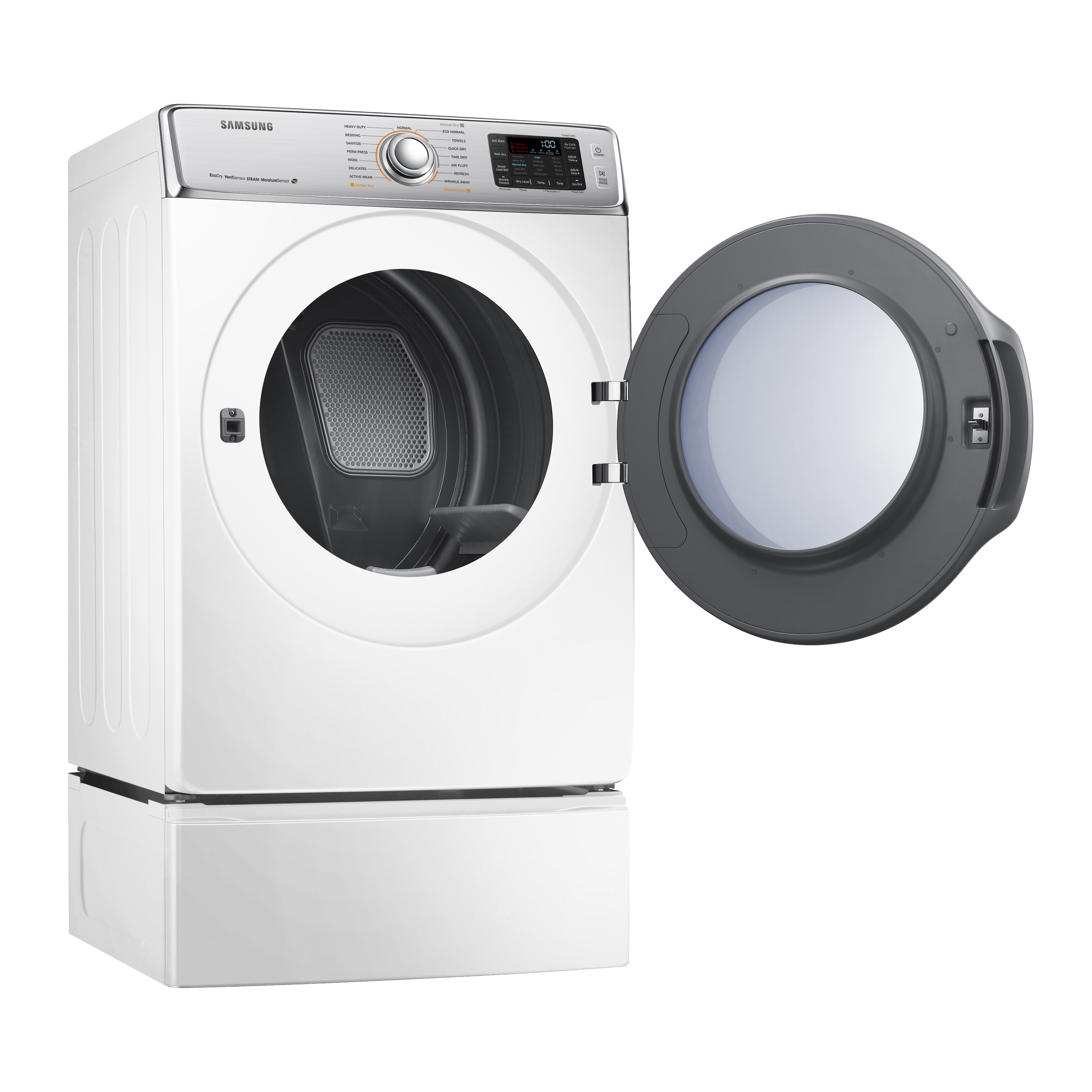 Samsung 9.5 cu. ft. Front-Load Electric Dryer - White