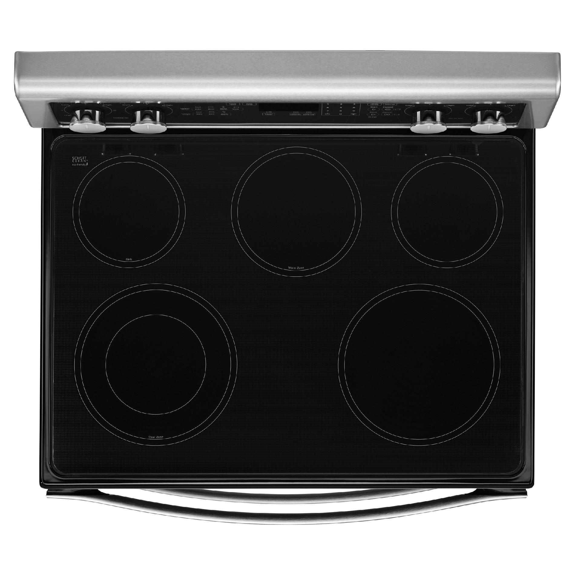 Whirlpool WGE555S0BS 6.7 cu. ft. Electric Range w/ AccuBake® System - Stainless Steel