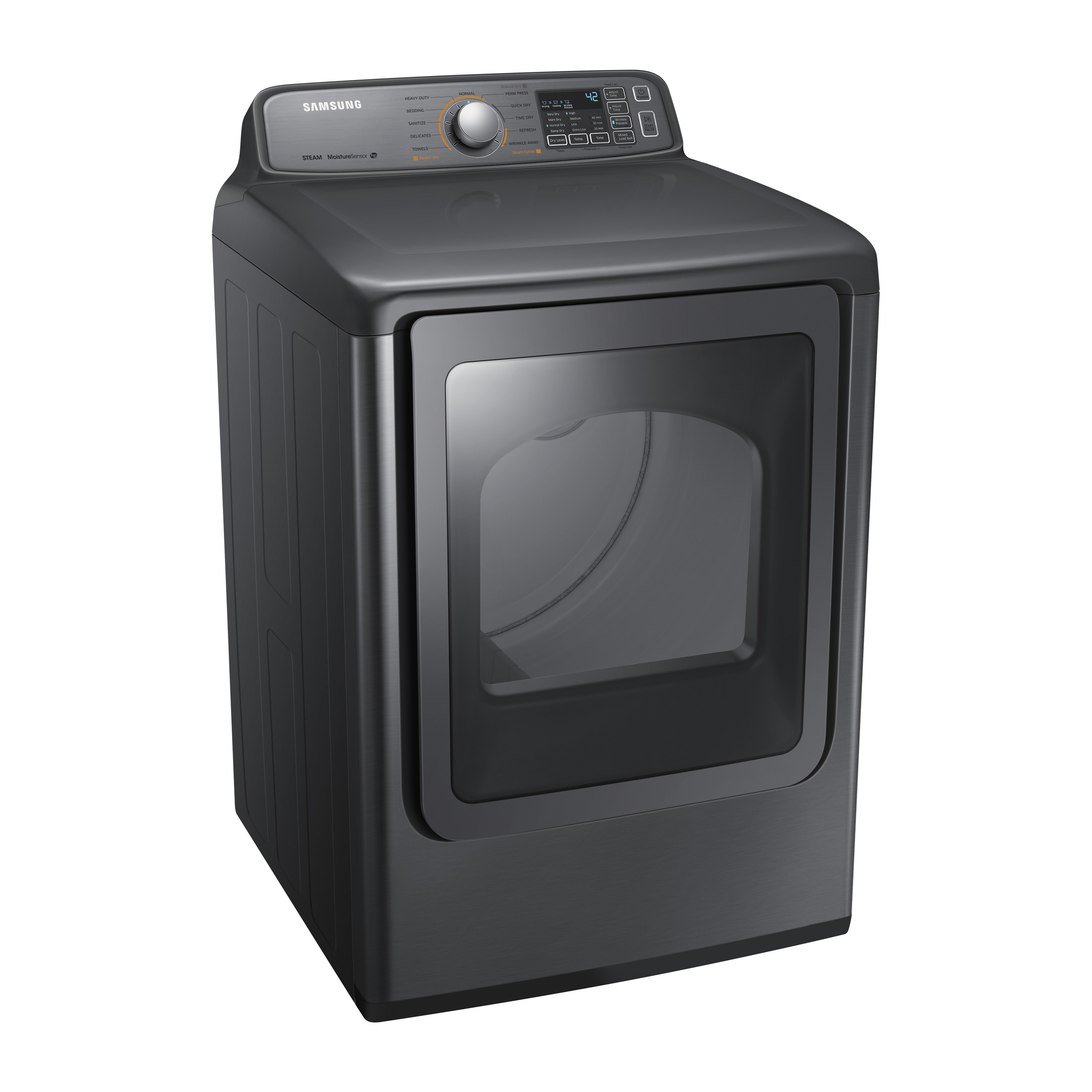 Samsung 7.4 cu. ft. Top Load Gas Dryer - Platinum