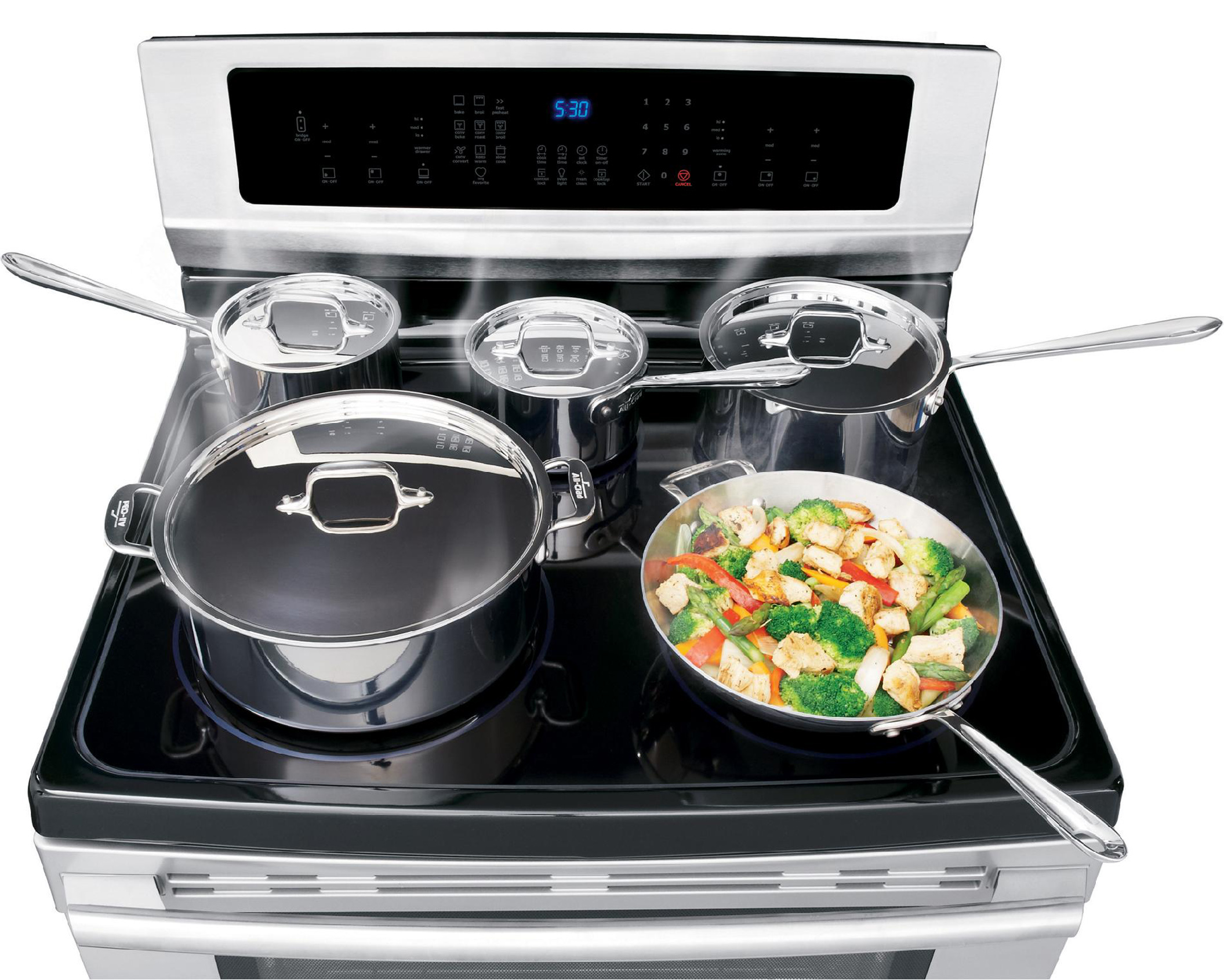 Electrolux EI30IF40LS 6.0 cu. ft. Electric Range w/ Induction Cooktop and IQ-Touch™ Controls - Stainless Steel