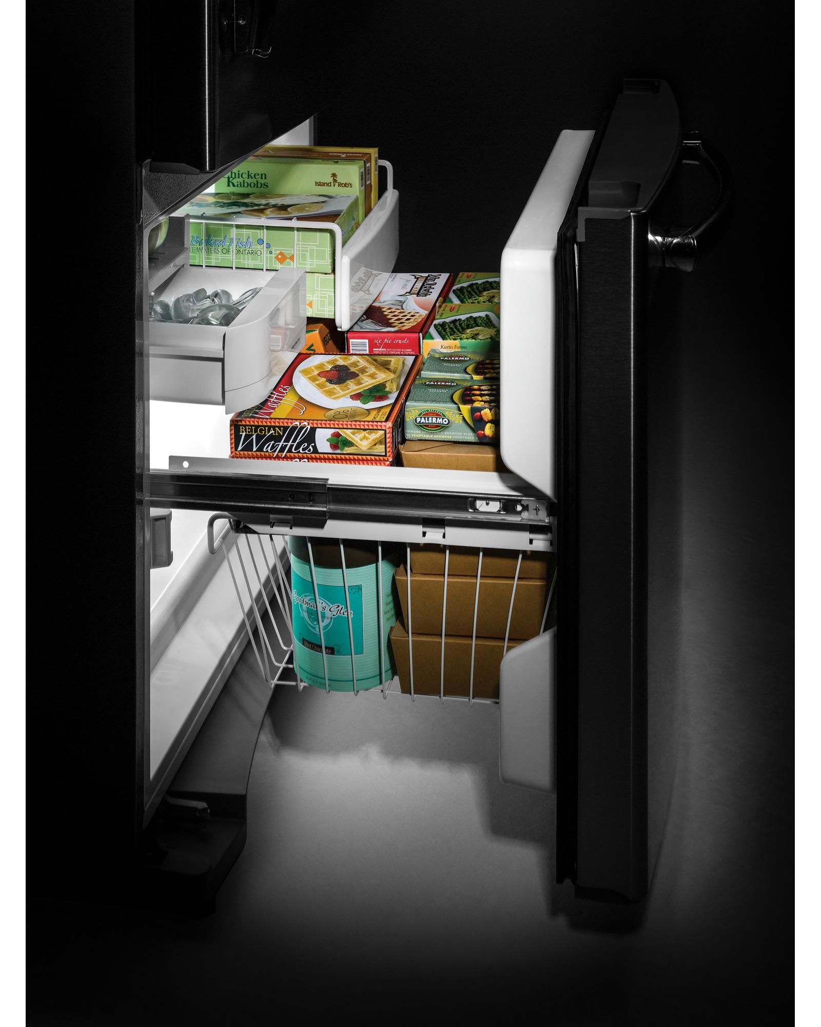 GE Appliances 23.2 cu. ft. Bottom-Freezer Drawer Refrigerator - Black