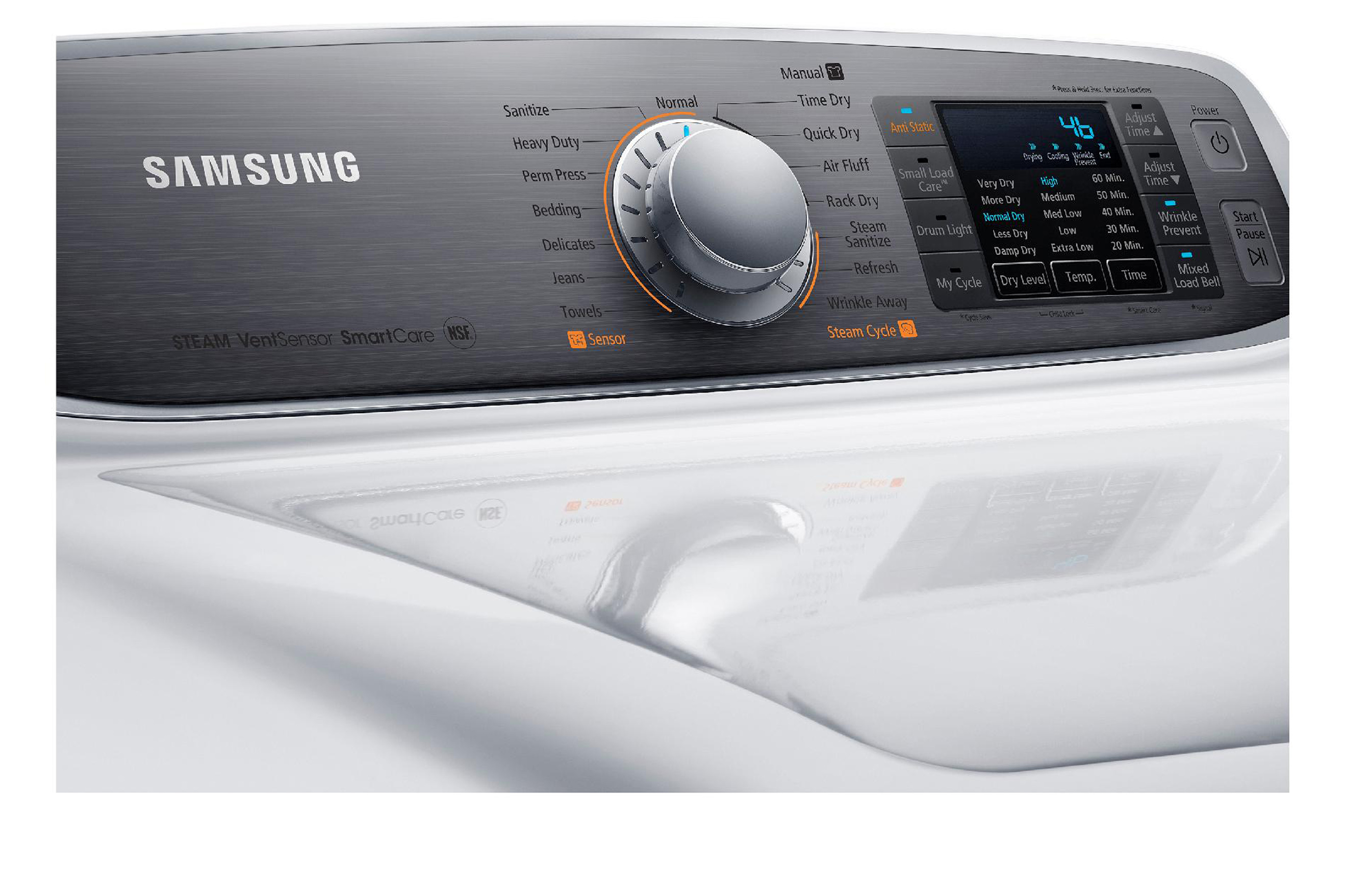 Samsung 7.4 cu. ft. Electric Dryer - Neat White.