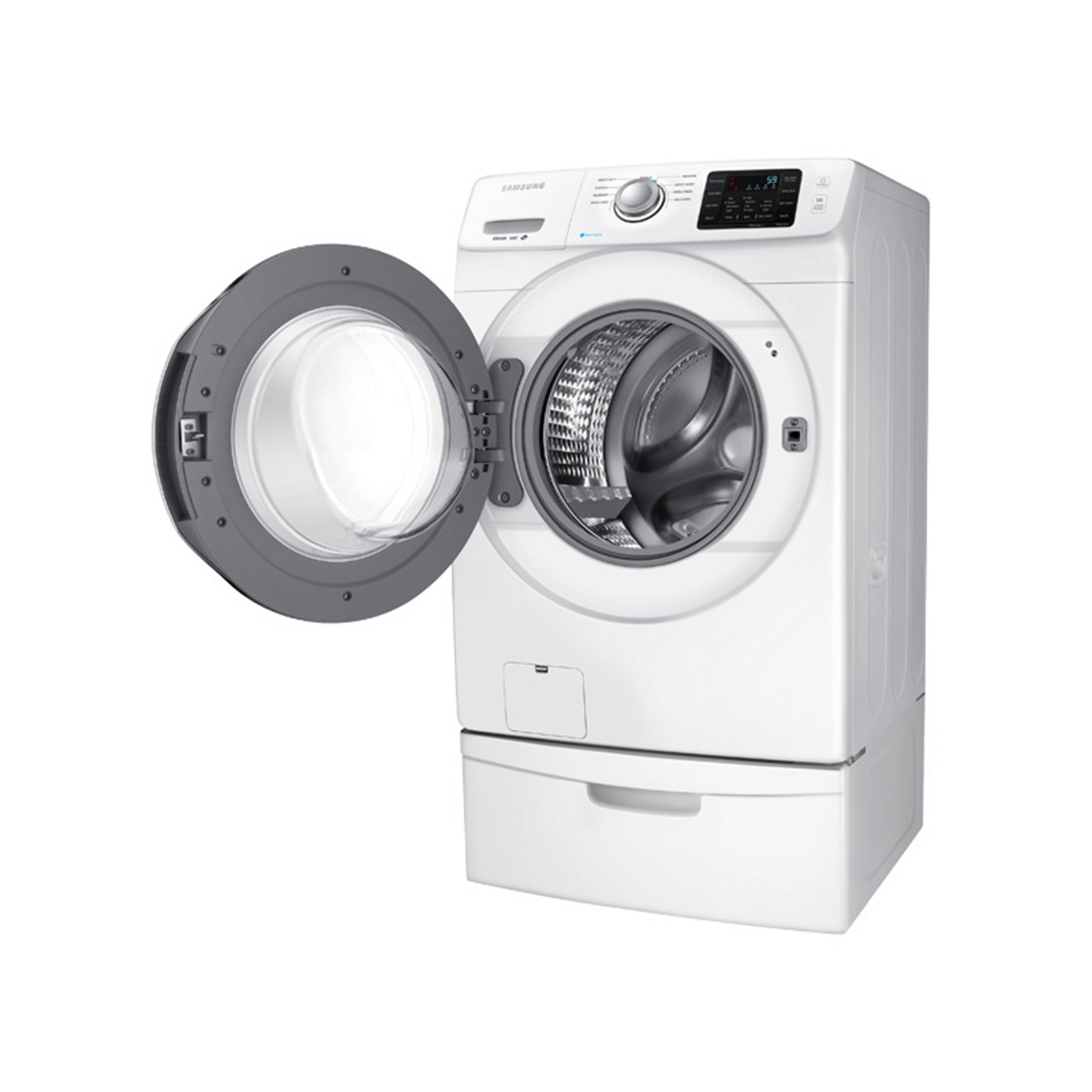 Samsung WF42H5200AW 4.2 cu. ft. Front-Load Washer w/ Steam Washing - White