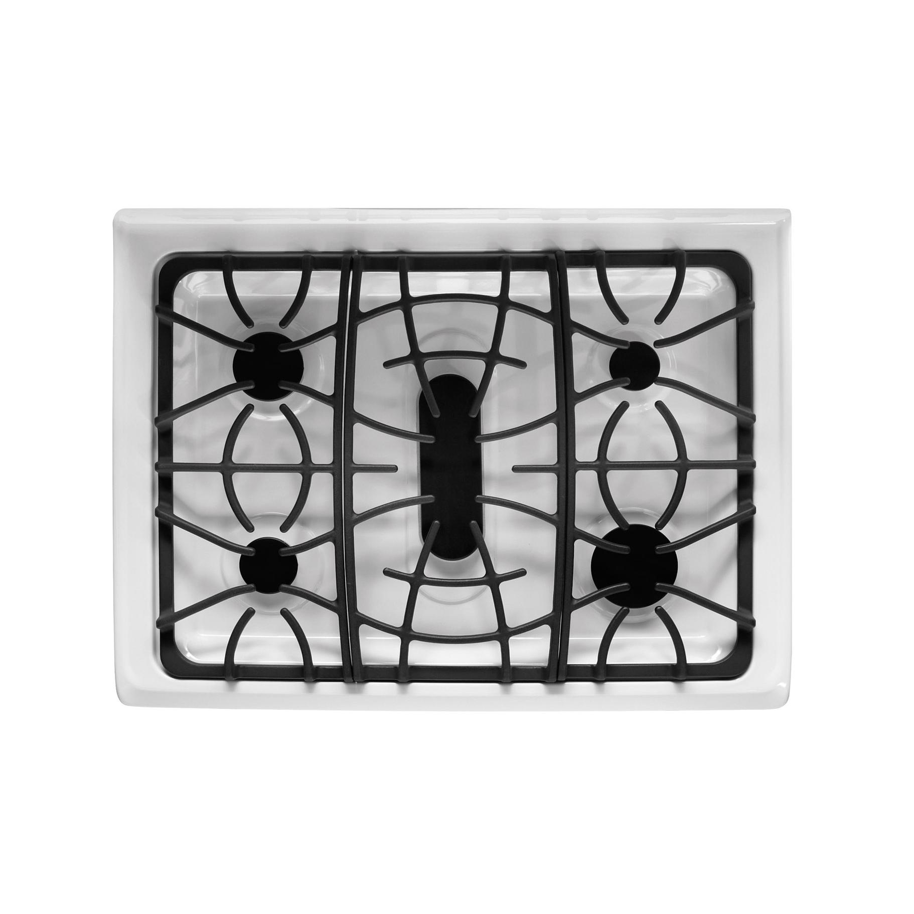 Frigidaire Gallery 5.0 cu. ft. Freestanding Gas Range w/ Effortless™ Temperature Probe - White