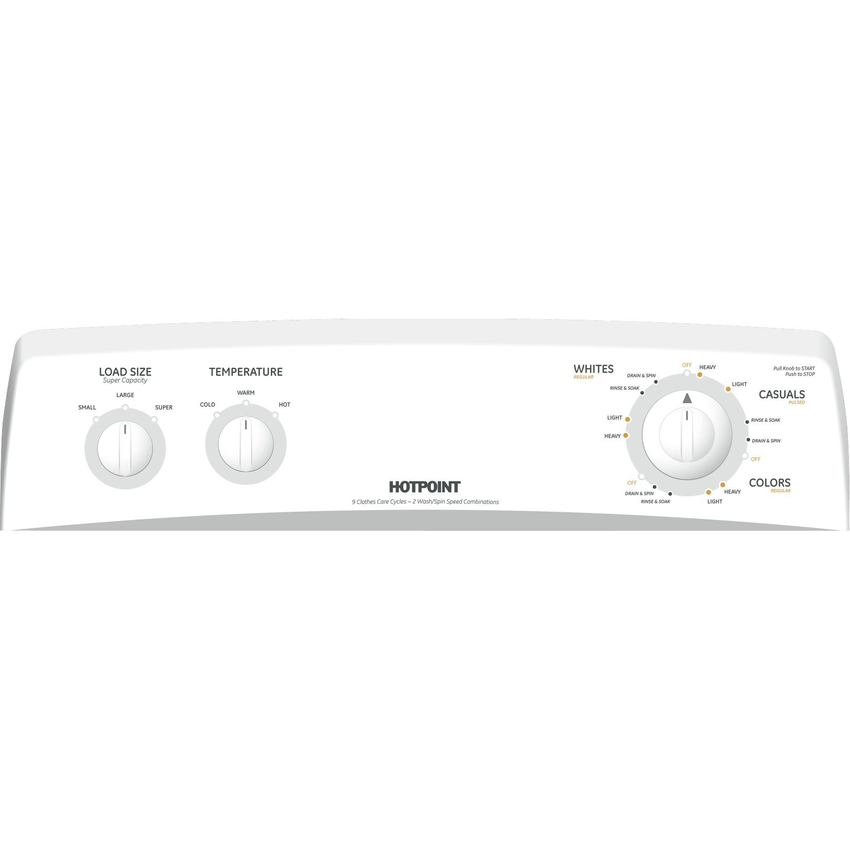 Hotpoint HSWP1000MWW 3.6 cu. ft. White Top Load Washer HSWP1000MWW