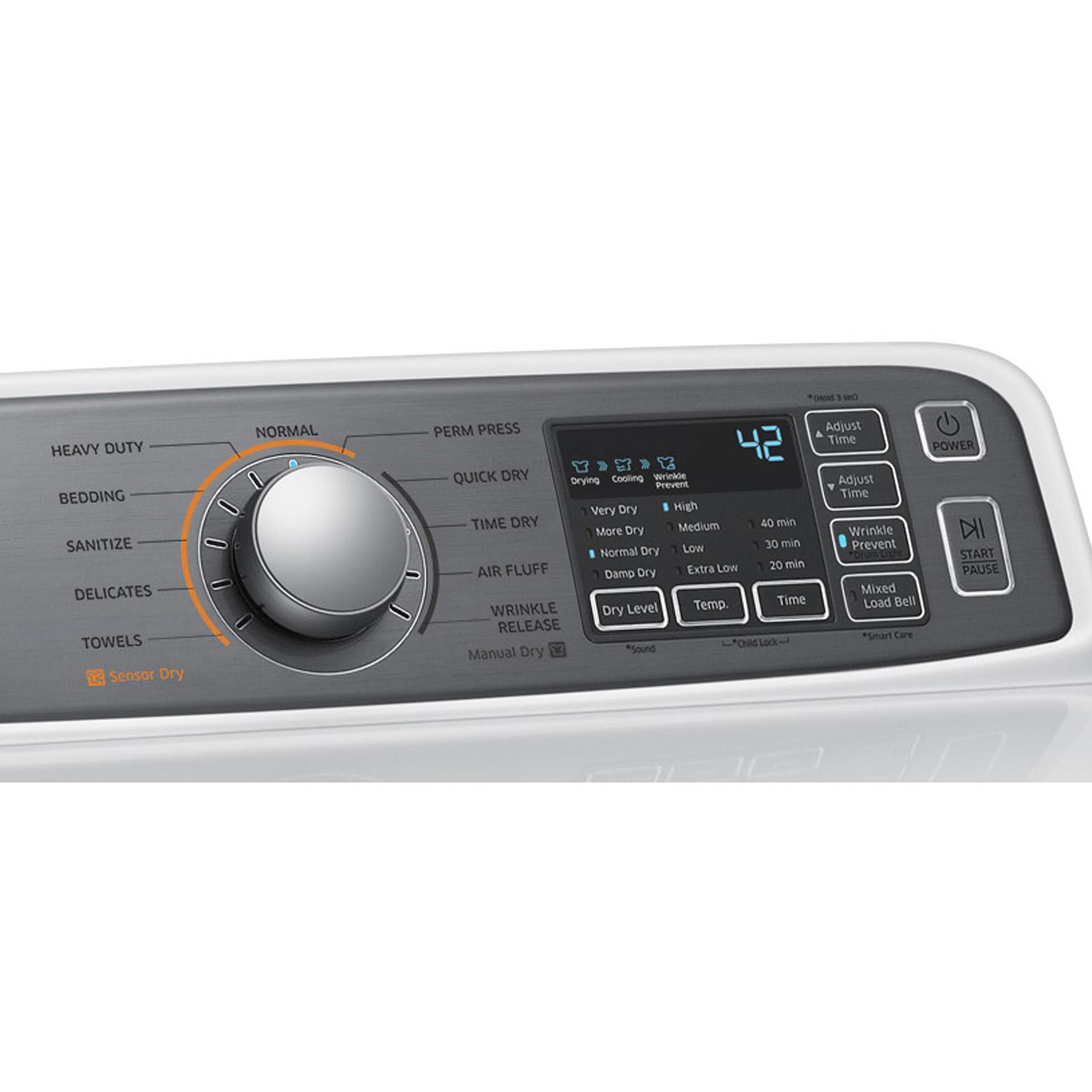 Samsung 7.4 cu. ft. Gas Dryer - White