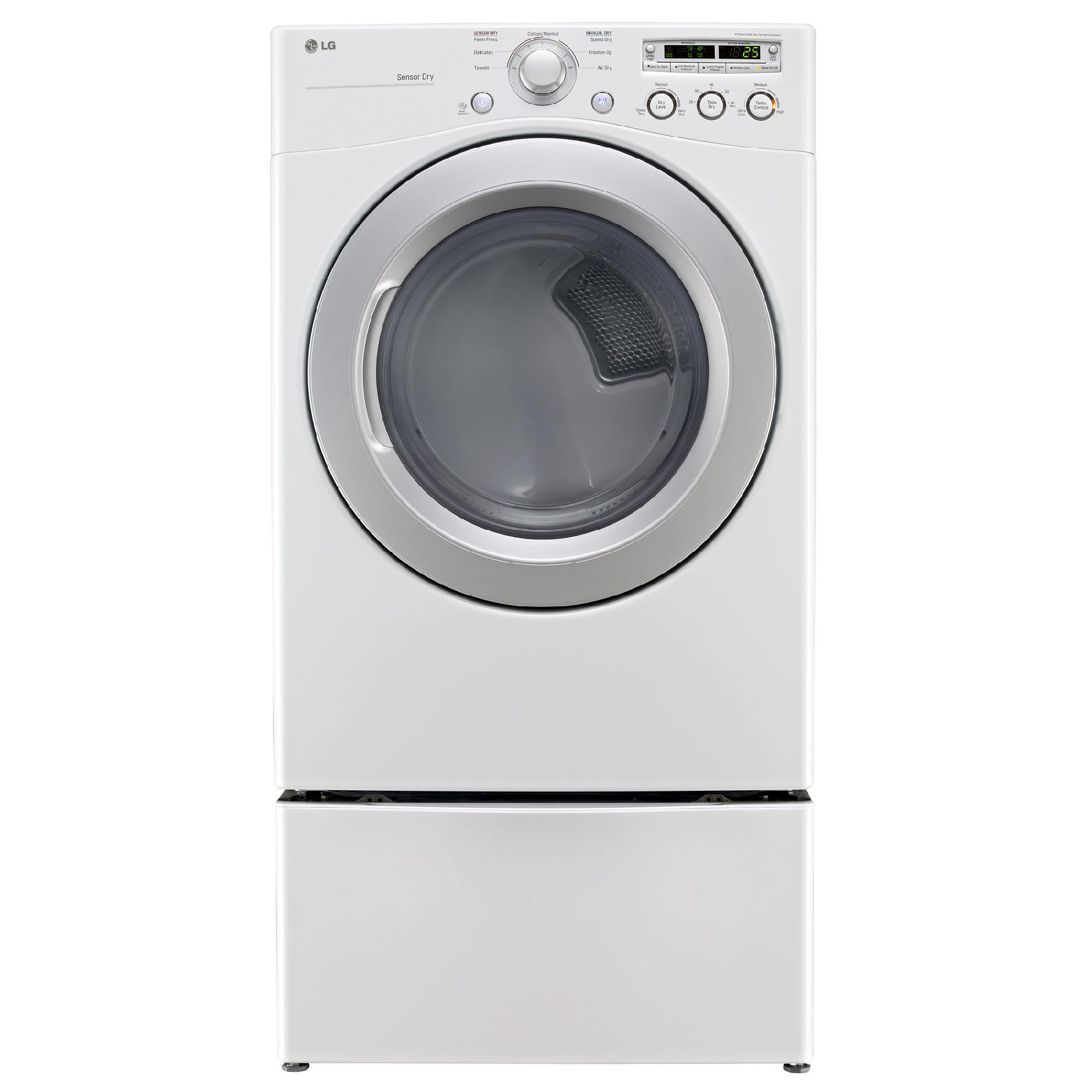 LG 7.3 cu. ft. Electric Dryer w/ Sensor Dry - White