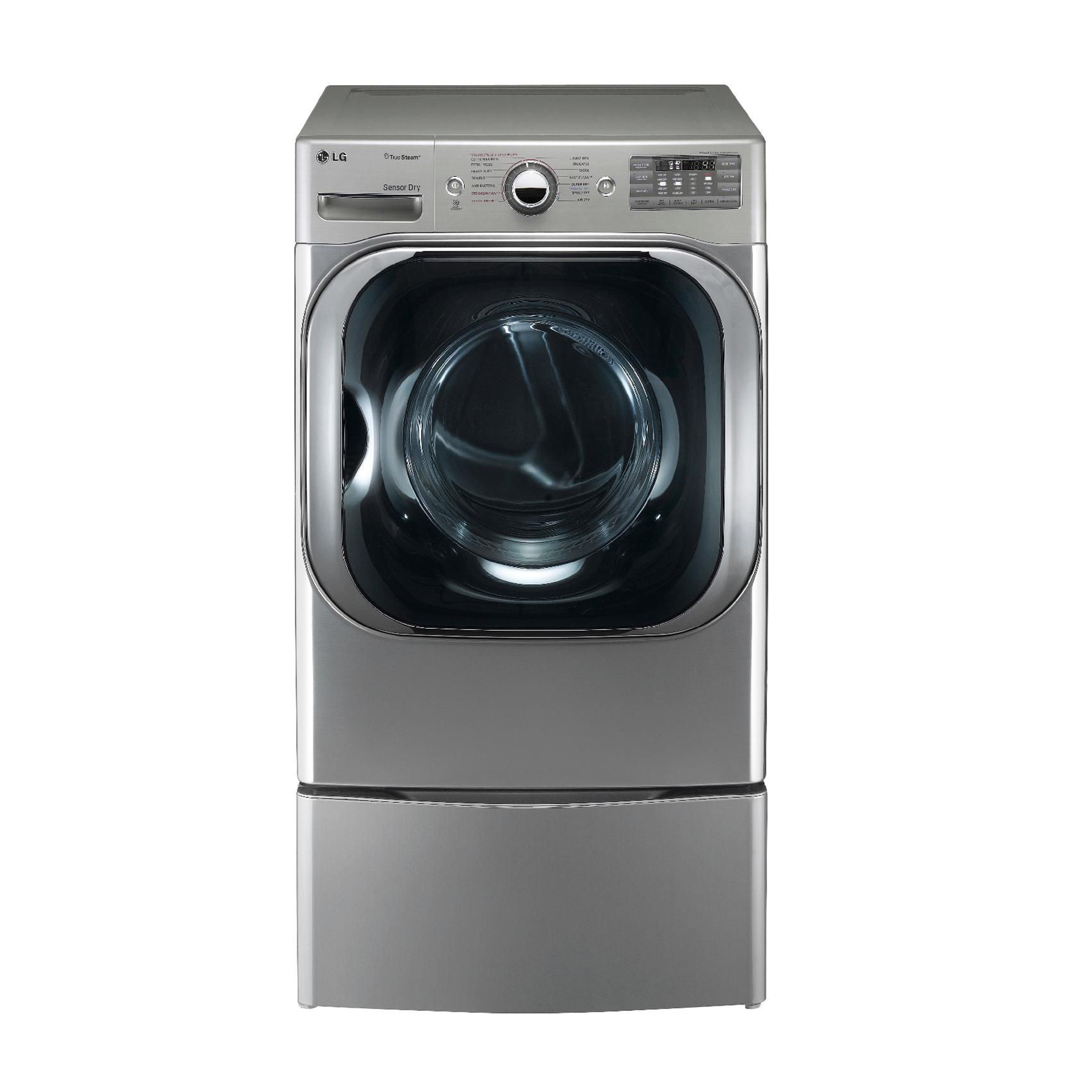 LG DLGX8001V 9.0 cu. ft. Mega-Capacity Steam Gas Dryer w/ Sensor Dry - Graphite Steel