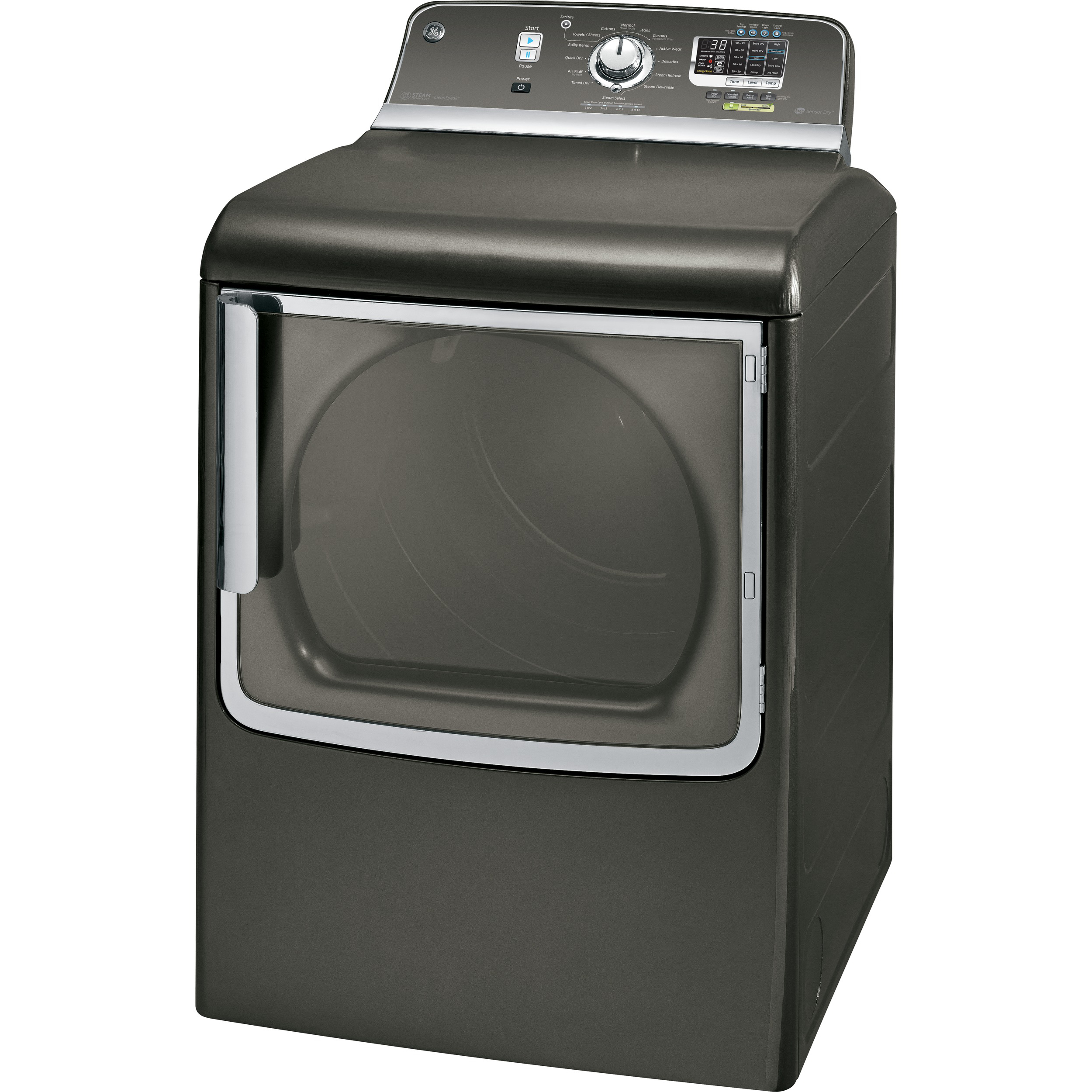 GE 7.8 cu. ft. Electric Dryer - Metallic Carbon