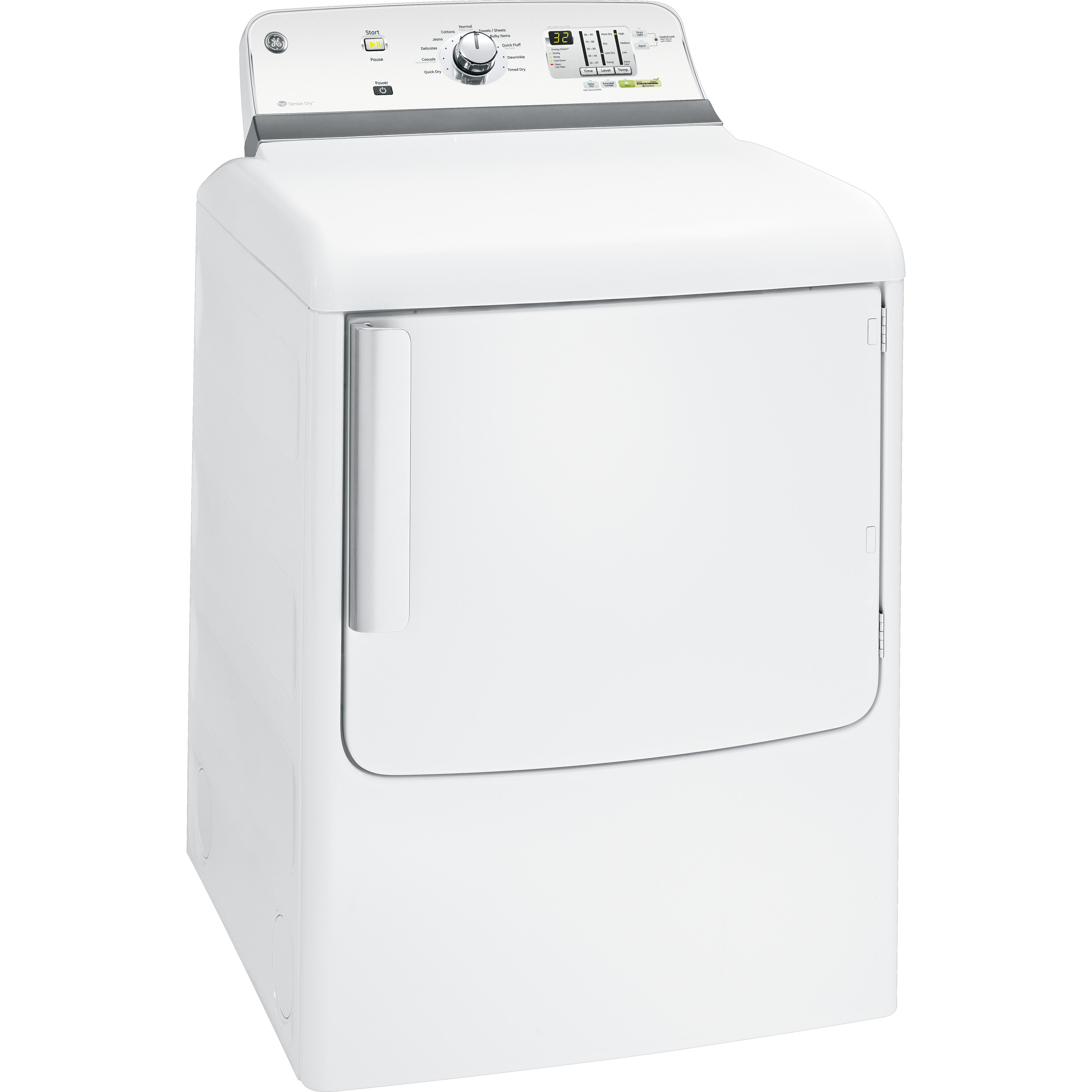 GE 7.8 cu. ft. Gas Dryer - White