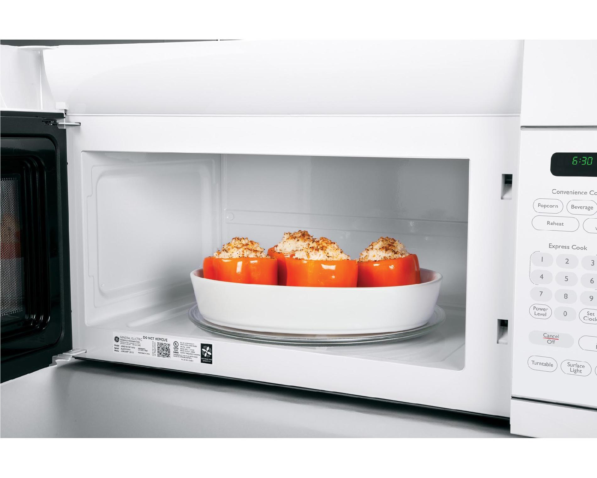 GE Appliances AVM4160DFWS Artistry™ Series 1.6 cu. ft. Over-the-Range Microwave - White