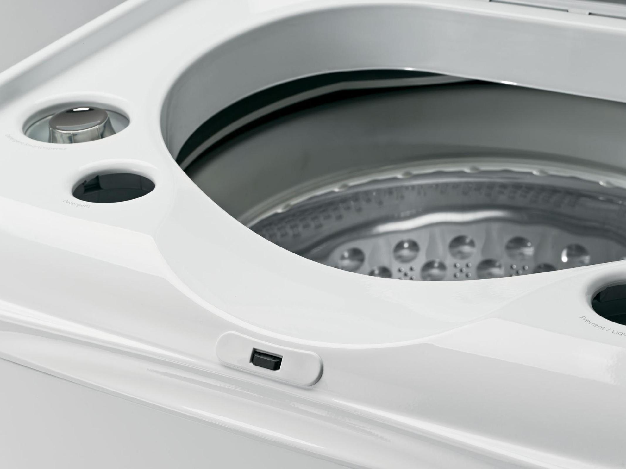 GE GTWS8655DMC 5.0 cu. ft. Top-Load Washer - Metallic Carbon