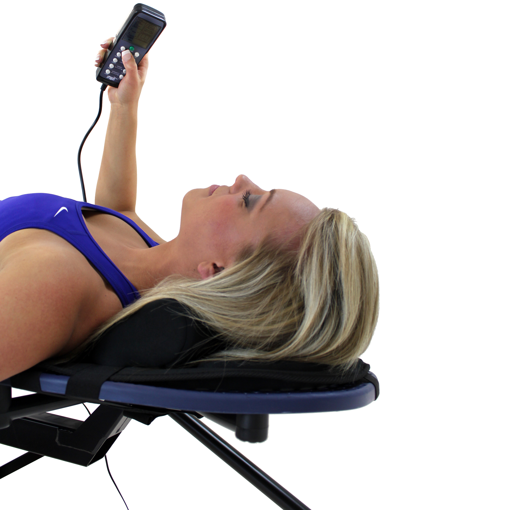 Teeter Teeter Better Back™ Vibration Cushion with Neck Support