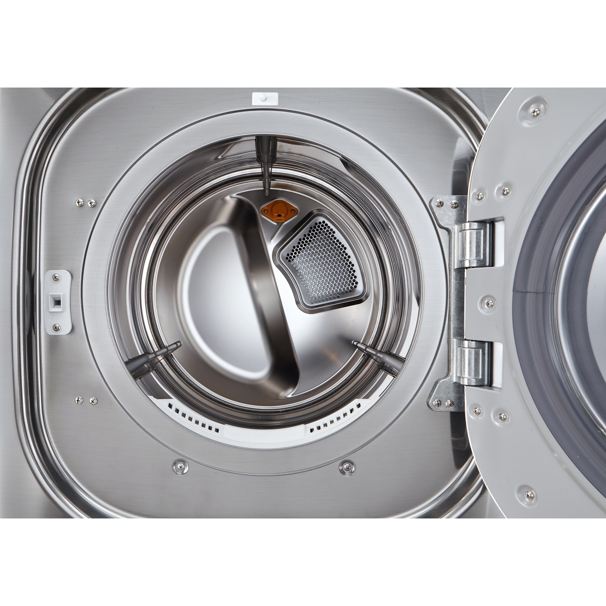 LG DLGX4271V 7.4 cu ft. Ultra Large Capacity SteamDryer™ w/ NFC Tag-On Technology – Graphite Steel