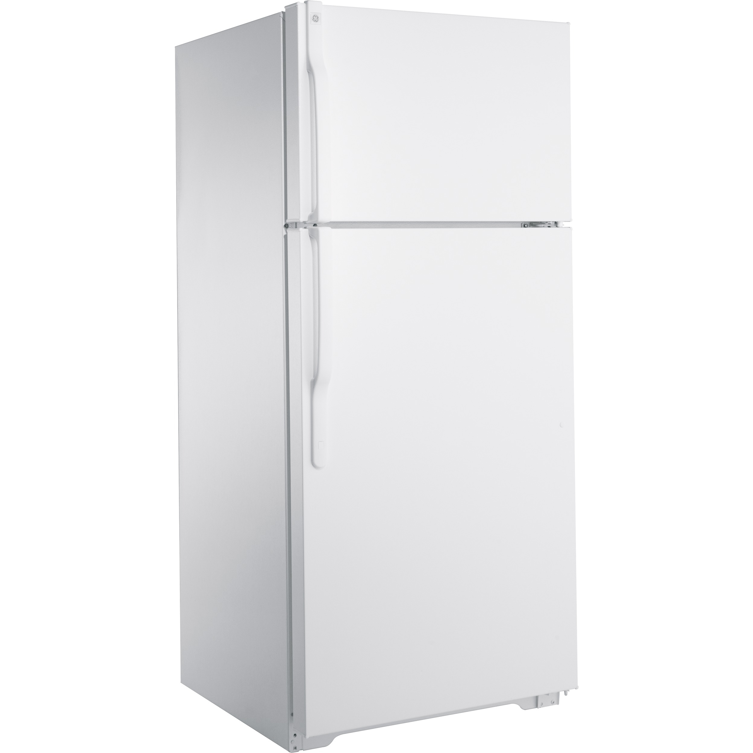 GE 16.6 cu. ft. Top-Freezer Refrigerator - White