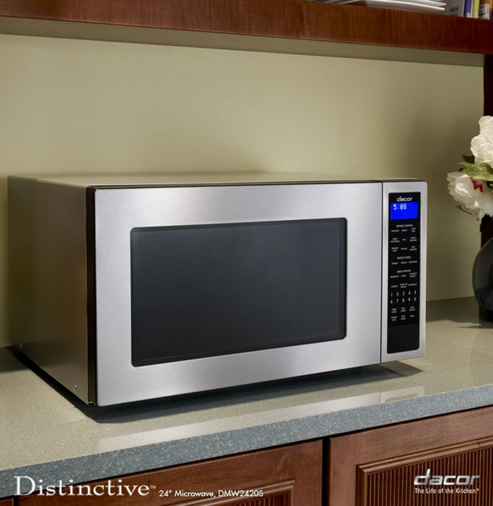"Dacor 24"" Microwave  Stainless Steel"