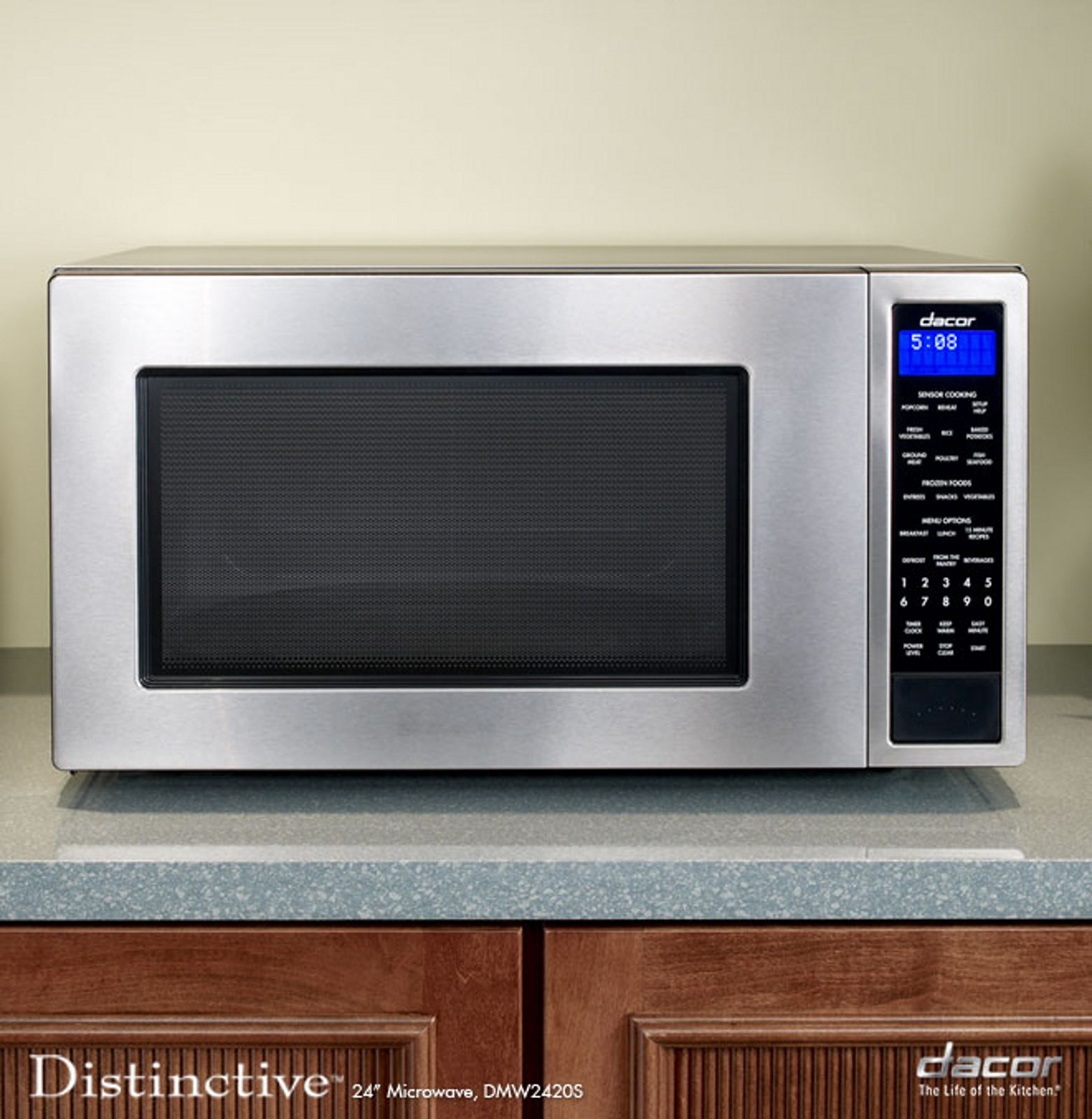 "Dacor Distinctive 24"" Microwave, Stainless Steel"