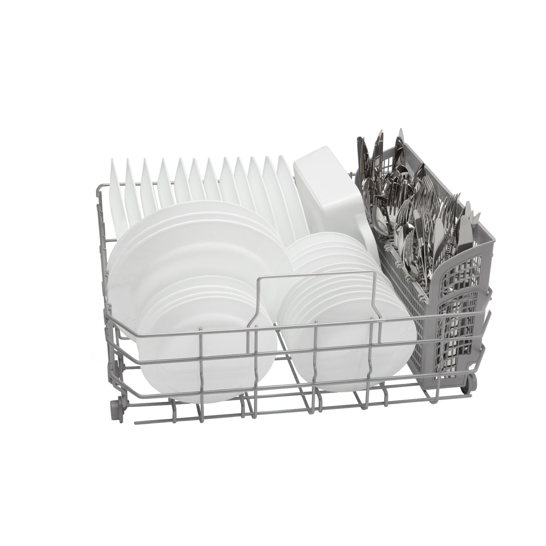 "Bosch SHX3AR72UC 24"" Built-In Dishwasher White"